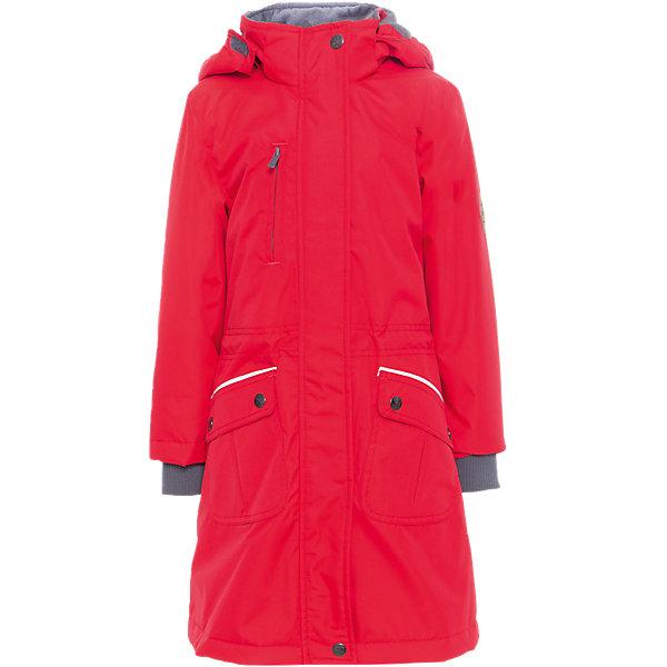 Куртка для девочки MOONI HuppaВерхняя одежда<br>Характеристики товара:<br><br>• цвет: красный<br>• ткань: 100% полиэстер<br>• подкладка: тафта- 100% полиэстер<br>• утеплитель: 100% полиэстер 100 г<br>• температурный режим: от -5°С до +10°С<br>• водонепроницаемость: 10000 мм<br>• воздухопроницаемость: 10000 мм<br>• светоотражающие детали<br>• внутренние вязанные манжеты<br>• плечевые швы проклеены<br>• эластичный шнур + фиксатор<br>• съёмный капюшон с резинкой<br>• карманы на молнии<br>• комфортная посадка<br>• коллекция: весна-лето 2017<br>• страна бренда: Эстония<br><br>Такая легкая и стильная куртка обеспечит детям тепло и комфорт. Она сделана из материала, отталкивающего воду, и дополнено подкладкой с утеплителем, поэтому изделие идеально подходит для межсезонья. Материал изделия - с мембранной технологией: защищая от влаги и ветра, он легко выводит лишнюю влагу наружу. Для удобства сделан капюшон. Куртка очень симпатично смотрится, яркая расцветка и крой добавляют ему оригинальности. Модель была разработана специально для детей.<br><br>Одежда и обувь от популярного эстонского бренда Huppa - отличный вариант одеть ребенка можно и комфортно. Вещи, выпускаемые компанией, качественные, продуманные и очень удобные. Для производства изделий используются только безопасные для детей материалы. Продукция от Huppa порадует и детей, и их родителей!<br><br>Куртку для девочки MOONI от бренда Huppa (Хуппа) можно купить в нашем интернет-магазине.<br>Ширина мм: 356; Глубина мм: 10; Высота мм: 245; Вес г: 519; Цвет: красный; Возраст от месяцев: 48; Возраст до месяцев: 60; Пол: Женский; Возраст: Детский; Размер: 140,134,128,122,116,104,110,158,152,146; SKU: 5346916;