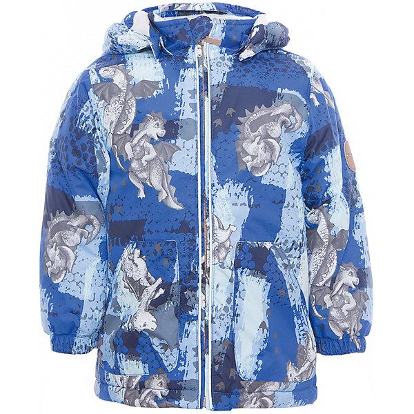 Куртка для мальчика BERTY HuppaВерхняя одежда<br>Характеристики товара:<br><br>• цвет: синий принт<br>• ткань: 100% полиэстер<br>• подкладка: Coral-fleece, смесь хлопка и полиэстера, в рукавах тафат - 100% полиэстер<br>• утеплитель: 100% полиэстер 100 г<br>• температурный режим: от -5°С до +10°С<br>• водонепроницаемость: 5000 мм<br>• воздухопроницаемость: 5000 мм<br>• светоотражающие детали<br>• эластичные манжеты<br>• эластичный шнурок + фиксатор<br>• защита подбородка<br>• съёмный капюшон с резинкой<br>• комфортная посадка<br>• коллекция: весна-лето 2017<br>• страна бренда: Эстония<br><br>Такая легкая и стильная куртка обеспечит детям тепло и комфорт. Она сделана из материала, отталкивающего воду, и дополнено подкладкой с утеплителем, поэтому изделие идеально подходит для межсезонья. Материал изделия - с мембранной технологией: защищая от влаги и ветра, он легко выводит лишнюю влагу наружу. Для удобства сделан капюшон. Куртка очень симпатично смотрится, яркая расцветка и крой добавляют ему оригинальности. Модель была разработана специально для детей.<br><br>Одежда и обувь от популярного эстонского бренда Huppa - отличный вариант одеть ребенка можно и комфортно. Вещи, выпускаемые компанией, качественные, продуманные и очень удобные. Для производства изделий используются только безопасные для детей материалы. Продукция от Huppa порадует и детей, и их родителей!<br><br>Куртку для мальчика BERTY от бренда Huppa (Хуппа) можно купить в нашем интернет-магазине.<br>Ширина мм: 356; Глубина мм: 10; Высота мм: 245; Вес г: 519; Цвет: синий; Возраст от месяцев: 12; Возраст до месяцев: 15; Пол: Мужской; Возраст: Детский; Размер: 80,110,104,98,92,86; SKU: 5346938;