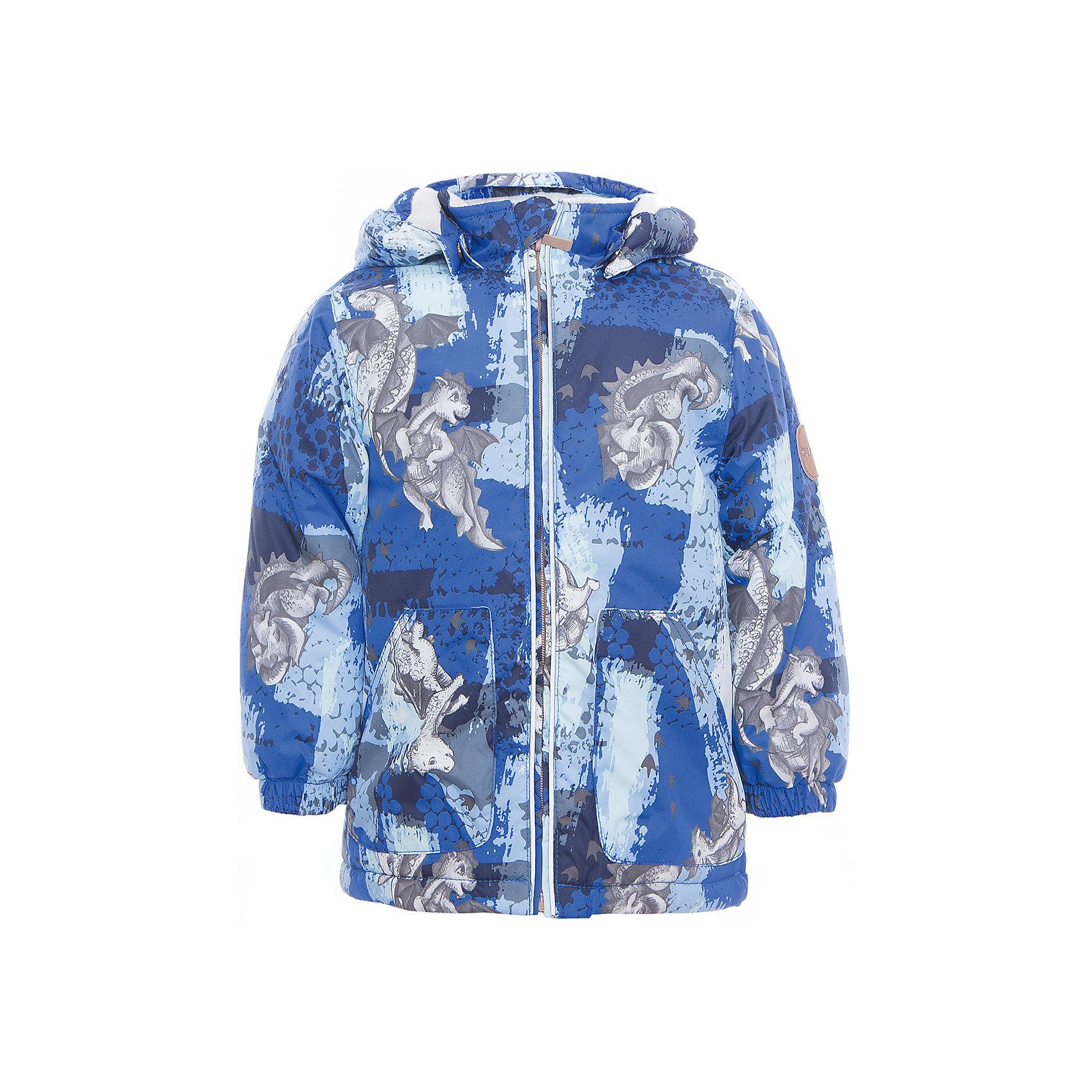 Куртка для мальчика BERTY HuppaДемисезонные куртки<br>Характеристики товара:<br><br>• цвет: синий принт<br>• ткань: 100% полиэстер<br>• подкладка: Coral-fleece, смесь хлопка и полиэстера, в рукавах тафат - 100% полиэстер<br>• утеплитель: 100% полиэстер 100 г<br>• температурный режим: от -5°С до +10°С<br>• водонепроницаемость: 5000 мм<br>• воздухопроницаемость: 5000 мм<br>• светоотражающие детали<br>• эластичные манжеты<br>• эластичный шнурок + фиксатор<br>• защита подбородка<br>• съёмный капюшон с резинкой<br>• комфортная посадка<br>• коллекция: весна-лето 2017<br>• страна бренда: Эстония<br><br>Такая легкая и стильная куртка обеспечит детям тепло и комфорт. Она сделана из материала, отталкивающего воду, и дополнено подкладкой с утеплителем, поэтому изделие идеально подходит для межсезонья. Материал изделия - с мембранной технологией: защищая от влаги и ветра, он легко выводит лишнюю влагу наружу. Для удобства сделан капюшон. Куртка очень симпатично смотрится, яркая расцветка и крой добавляют ему оригинальности. Модель была разработана специально для детей.<br><br>Одежда и обувь от популярного эстонского бренда Huppa - отличный вариант одеть ребенка можно и комфортно. Вещи, выпускаемые компанией, качественные, продуманные и очень удобные. Для производства изделий используются только безопасные для детей материалы. Продукция от Huppa порадует и детей, и их родителей!<br><br>Куртку для мальчика BERTY от бренда Huppa (Хуппа) можно купить в нашем интернет-магазине.<br><br>Ширина мм: 356<br>Глубина мм: 10<br>Высота мм: 245<br>Вес г: 519<br>Цвет: синий<br>Возраст от месяцев: 48<br>Возраст до месяцев: 60<br>Пол: Мужской<br>Возраст: Детский<br>Размер: 110,80,86,92,98,104<br>SKU: 5346938