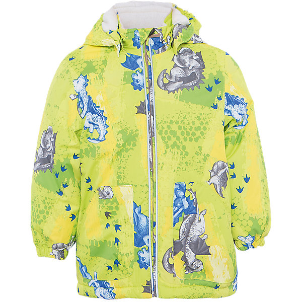 Куртка для мальчика BERTY HuppaВерхняя одежда<br>Характеристики товара:<br><br>• цвет: лайм принт<br>• ткань: 100% полиэстер<br>• подкладка: Coral-fleece, смесь хлопка и полиэстера, в рукавах тафат - 100% полиэстер<br>• утеплитель: 100% полиэстер 100 г<br>• температурный режим: от -5°С до +10°С<br>• водонепроницаемость: 5000 мм<br>• воздухопроницаемость: 5000 мм<br>• светоотражающие детали<br>• эластичные манжеты<br>• эластичный шнурок + фиксатор<br>• защита подбородка<br>• съёмный капюшон с резинкой<br>• комфортная посадка<br>• коллекция: весна-лето 2017<br>• страна бренда: Эстония<br><br>Такая легкая и стильная куртка обеспечит детям тепло и комфорт. Она сделана из материала, отталкивающего воду, и дополнено подкладкой с утеплителем, поэтому изделие идеально подходит для межсезонья. Материал изделия - с мембранной технологией: защищая от влаги и ветра, он легко выводит лишнюю влагу наружу. Для удобства сделан капюшон. Куртка очень симпатично смотрится, яркая расцветка и крой добавляют ему оригинальности. Модель была разработана специально для детей.<br><br>Одежда и обувь от популярного эстонского бренда Huppa - отличный вариант одеть ребенка можно и комфортно. Вещи, выпускаемые компанией, качественные, продуманные и очень удобные. Для производства изделий используются только безопасные для детей материалы. Продукция от Huppa порадует и детей, и их родителей!<br><br>Куртку для мальчика BERTY от бренда Huppa (Хуппа) можно купить в нашем интернет-магазине.<br><br>Ширина мм: 356<br>Глубина мм: 10<br>Высота мм: 245<br>Вес г: 519<br>Цвет: зеленый<br>Возраст от месяцев: 12<br>Возраст до месяцев: 15<br>Пол: Мужской<br>Возраст: Детский<br>Размер: 80,110,104,98,92,86<br>SKU: 5346945