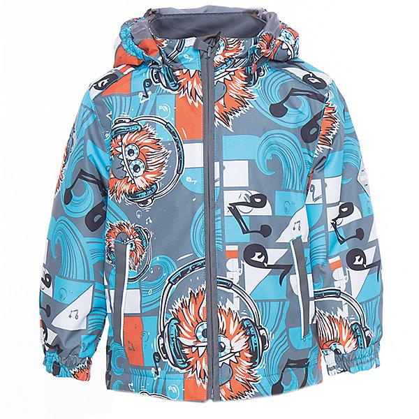 Куртка для мальчика BERTY HuppaВерхняя одежда<br>Характеристики товара:<br><br>• цвет: голубой принт<br>• ткань: 100% полиэстер<br>• подкладка: Coral-fleece, смесь хлопка и полиэстера, в рукавах тафат - 100% полиэстер<br>• утеплитель: 100% полиэстер 100 г<br>• температурный режим: от -5°С до +10°С<br>• водонепроницаемость: 10000 мм<br>• воздухопроницаемость: 10000 мм<br>• светоотражающие детали<br>• эластичные манжеты<br>• эластичный шнурок + фиксатор<br>• защита подбородка<br>• съёмный капюшон с резинкой<br>• комфортная посадка<br>• коллекция: весна-лето 2017<br>• страна бренда: Эстония<br><br>Такая легкая и стильная куртка обеспечит детям тепло и комфорт. Она сделана из материала, отталкивающего воду, и дополнено подкладкой с утеплителем, поэтому изделие идеально подходит для межсезонья. Материал изделия - с мембранной технологией: защищая от влаги и ветра, он легко выводит лишнюю влагу наружу. Для удобства сделан капюшон. Куртка очень симпатично смотрится, яркая расцветка и крой добавляют ему оригинальности. Модель была разработана специально для детей.<br><br>Одежда и обувь от популярного эстонского бренда Huppa - отличный вариант одеть ребенка можно и комфортно. Вещи, выпускаемые компанией, качественные, продуманные и очень удобные. Для производства изделий используются только безопасные для детей материалы. Продукция от Huppa порадует и детей, и их родителей!<br><br>Куртку для мальчика BERTY от бренда Huppa (Хуппа) можно купить в нашем интернет-магазине.<br><br>Ширина мм: 356<br>Глубина мм: 10<br>Высота мм: 245<br>Вес г: 519<br>Цвет: голубой<br>Возраст от месяцев: 12<br>Возраст до месяцев: 15<br>Пол: Мужской<br>Возраст: Детский<br>Размер: 80,110,104,92,86,98<br>SKU: 5346952