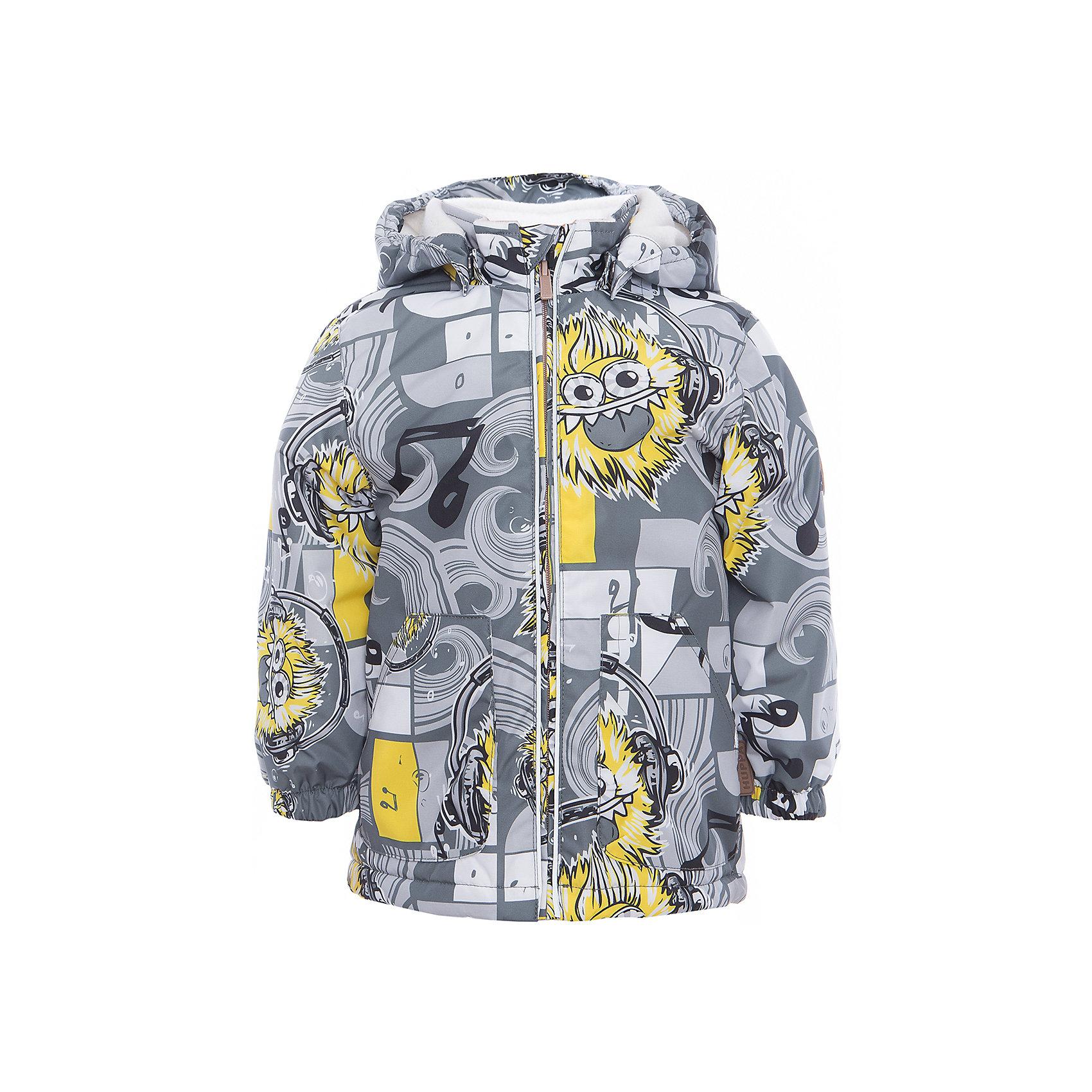Куртка для мальчика BERTY HuppaДемисезонные куртки<br>Характеристики товара:<br><br>• цвет: серый принт<br>• ткань: 100% полиэстер<br>• подкладка: Coral-fleece, смесь хлопка и полиэстера, в рукавах тафат - 100% полиэстер<br>• утеплитель: 100% полиэстер 100 г<br>• температурный режим: от -5°С до +10°С<br>• водонепроницаемость: 10000 мм<br>• воздухопроницаемость: 10000 мм<br>• светоотражающие детали<br>• эластичные манжеты<br>• эластичный шнурок + фиксатор<br>• защита подбородка<br>• съёмный капюшон с резинкой<br>• комфортная посадка<br>• коллекция: весна-лето 2017<br>• страна бренда: Эстония<br><br>Такая легкая и стильная куртка обеспечит детям тепло и комфорт. Она сделана из материала, отталкивающего воду, и дополнено подкладкой с утеплителем, поэтому изделие идеально подходит для межсезонья. Материал изделия - с мембранной технологией: защищая от влаги и ветра, он легко выводит лишнюю влагу наружу. Для удобства сделан капюшон. Куртка очень симпатично смотрится, яркая расцветка и крой добавляют ему оригинальности. Модель была разработана специально для детей.<br><br>Одежда и обувь от популярного эстонского бренда Huppa - отличный вариант одеть ребенка можно и комфортно. Вещи, выпускаемые компанией, качественные, продуманные и очень удобные. Для производства изделий используются только безопасные для детей материалы. Продукция от Huppa порадует и детей, и их родителей!<br><br>Куртку для мальчика BERTY от бренда Huppa (Хуппа) можно купить в нашем интернет-магазине.<br><br>Ширина мм: 356<br>Глубина мм: 10<br>Высота мм: 245<br>Вес г: 519<br>Цвет: серый<br>Возраст от месяцев: 48<br>Возраст до месяцев: 60<br>Пол: Мужской<br>Возраст: Детский<br>Размер: 110,92,80,86,98,104<br>SKU: 5346966