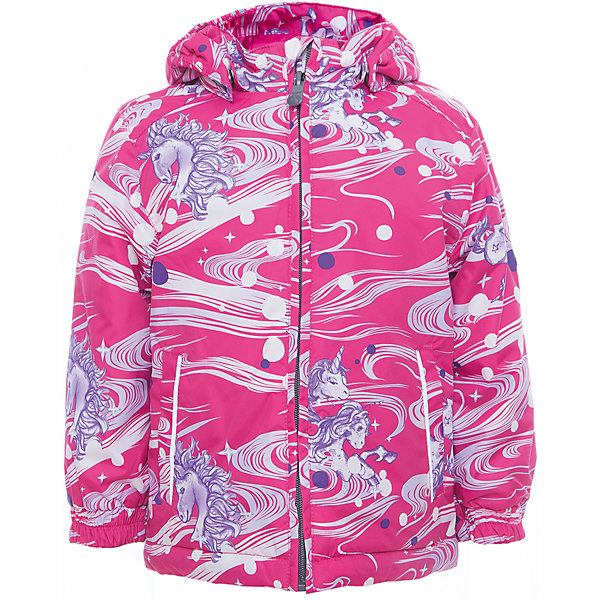 Куртка JODY для девочки HuppaВерхняя одежда<br>Характеристики товара:<br><br>• цвет: розовый<br>• ткань: 100% полиэстер<br>• подкладка: тафта - 100% полиэстер<br>• утеплитель: 100% полиэстер 100 г<br>• температурный режим: от -5°С до +15°С<br>• водонепроницаемость: 10000 мм<br>• воздухопроницаемость: 10000 мм<br>• светоотражающие детали<br>• эластичные манжеты<br>• молния<br>• съёмный капюшон<br>• комфортная посадка<br>• коллекция: весна-лето 2017<br>• страна бренда: Эстония<br><br>Эта стильная куртка обеспечит детям тепло и комфорт. Она сделана из материала, отталкивающего воду, и дополнено подкладкой с утеплителем, поэтому изделие идеально подходит для межсезонья. Материал изделия - с мембранной технологией: защищая от влаги и ветра, он легко выводит лишнюю влагу наружу. Для удобства сделан капюшон. Куртка очень симпатично смотрится, яркая расцветка и крой добавляют ему оригинальности. Модель была разработана специально для детей.<br><br>Одежда и обувь от популярного эстонского бренда Huppa - отличный вариант одеть ребенка можно и комфортно. Вещи, выпускаемые компанией, качественные, продуманные и очень удобные. Для производства изделий используются только безопасные для детей материалы. Продукция от Huppa порадует и детей, и их родителей!<br><br>Куртку JODY от бренда Huppa (Хуппа) можно купить в нашем интернет-магазине.<br><br>Ширина мм: 356<br>Глубина мм: 10<br>Высота мм: 245<br>Вес г: 519<br>Цвет: лиловый<br>Возраст от месяцев: 18<br>Возраст до месяцев: 24<br>Пол: Женский<br>Возраст: Детский<br>Размер: 92,152,146,140,134,128,122,116,110,104,98<br>SKU: 5346973