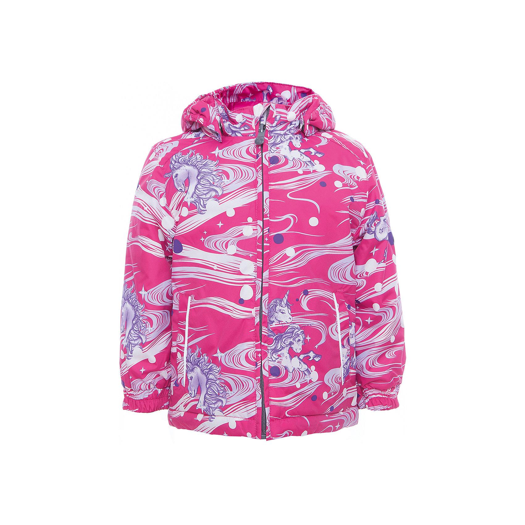 Куртка JODY для девочки HuppaХарактеристики товара:<br><br>• цвет: розовый<br>• ткань: 100% полиэстер<br>• подкладка: тафта - 100% полиэстер<br>• утеплитель: 100% полиэстер 100 г<br>• температурный режим: от -5°С до +15°С<br>• водонепроницаемость: 10000 мм<br>• воздухопроницаемость: 10000 мм<br>• светоотражающие детали<br>• эластичные манжеты<br>• молния<br>• съёмный капюшон<br>• комфортная посадка<br>• коллекция: весна-лето 2017<br>• страна бренда: Эстония<br><br>Эта стильная куртка обеспечит детям тепло и комфорт. Она сделана из материала, отталкивающего воду, и дополнено подкладкой с утеплителем, поэтому изделие идеально подходит для межсезонья. Материал изделия - с мембранной технологией: защищая от влаги и ветра, он легко выводит лишнюю влагу наружу. Для удобства сделан капюшон. Куртка очень симпатично смотрится, яркая расцветка и крой добавляют ему оригинальности. Модель была разработана специально для детей.<br><br>Одежда и обувь от популярного эстонского бренда Huppa - отличный вариант одеть ребенка можно и комфортно. Вещи, выпускаемые компанией, качественные, продуманные и очень удобные. Для производства изделий используются только безопасные для детей материалы. Продукция от Huppa порадует и детей, и их родителей!<br><br>Куртку JODY от бренда Huppa (Хуппа) можно купить в нашем интернет-магазине.<br><br>Ширина мм: 356<br>Глубина мм: 10<br>Высота мм: 245<br>Вес г: 519<br>Цвет: фиолетовый<br>Возраст от месяцев: 132<br>Возраст до месяцев: 144<br>Пол: Женский<br>Возраст: Детский<br>Размер: 152,92,98,104,110,116,122,128,134,140,146<br>SKU: 5346973