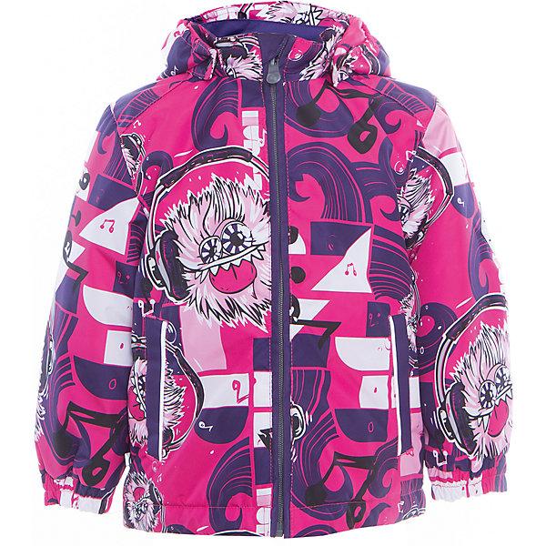 Купить Куртка JODY для девочки Huppa, Эстония, лиловый, 92, 152, 146, 140, 134, 128, 122, 116, 110, 104, 98, Женский