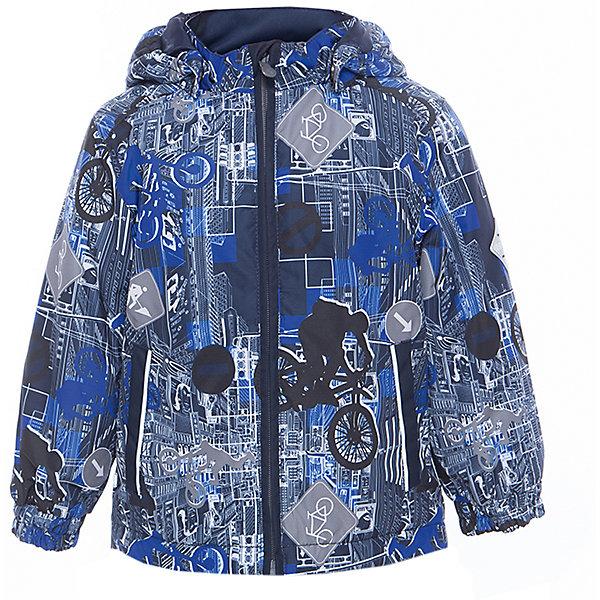 Куртка JODY для мальчика HuppaВерхняя одежда<br>Характеристики товара:<br><br>• цвет: синий<br>• ткань: 100% полиэстер<br>• подкладка: тафта - 100% полиэстер<br>• утеплитель: 100% полиэстер 100 г<br>• температурный режим: от -5°С до +15°С<br>• водонепроницаемость: 10000 мм<br>• воздухопроницаемость: 10000 мм<br>• светоотражающие детали<br>• эластичные манжеты<br>• молния<br>• съёмный капюшон<br>• комфортная посадка<br>• коллекция: весна-лето 2017<br>• страна бренда: Эстония<br><br>Эта стильная куртка обеспечит детям тепло и комфорт. Она сделана из материала, отталкивающего воду, и дополнено подкладкой с утеплителем, поэтому изделие идеально подходит для межсезонья. Материал изделия - с мембранной технологией: защищая от влаги и ветра, он легко выводит лишнюю влагу наружу. Для удобства сделан капюшон. Куртка очень симпатично смотрится, яркая расцветка и крой добавляют ему оригинальности. Модель была разработана специально для детей.<br><br>Одежда и обувь от популярного эстонского бренда Huppa - отличный вариант одеть ребенка можно и комфортно. Вещи, выпускаемые компанией, качественные, продуманные и очень удобные. Для производства изделий используются только безопасные для детей материалы. Продукция от Huppa порадует и детей, и их родителей!<br><br>Куртку JODY от бренда Huppa (Хуппа) можно купить в нашем интернет-магазине.<br><br>Ширина мм: 356<br>Глубина мм: 10<br>Высота мм: 245<br>Вес г: 519<br>Цвет: синий<br>Возраст от месяцев: 72<br>Возраст до месяцев: 84<br>Пол: Мужской<br>Возраст: Детский<br>Размер: 146,134,128,116,110,104,98,92,140,152,122<br>SKU: 5347021