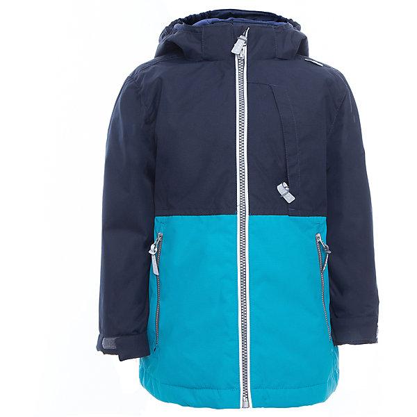 Куртка для мальчика TREVOR HuppaВерхняя одежда<br>Характеристики товара:<br><br>• цвет: тёмно-синий/голубой<br>• ткань: 100% полиэстер<br>• подкладка: тафта - 100% полиэстер<br>• утеплитель: 100% полиэстер 100 г<br>• температурный режим: от -5°С до +10°С<br>• водонепроницаемость: 10000 мм<br>• воздухопроницаемость: 10000 мм<br>• светоотражающие детали<br>• эластичные манжеты<br>• проклеенные швы<br>• карманы на молнии<br>• эластичный шнур + фиксатор<br>• съёмный капюшон с резинкой<br>• регулируемые манжеты<br>• комфортная посадка<br>• коллекция: весна-лето 2017<br>• страна бренда: Эстония<br><br>Эта стильная куртка обеспечит детям тепло и комфорт. Она сделана из материала, отталкивающего воду, и дополнено подкладкой с утеплителем, поэтому изделие идеально подходит для межсезонья. Материал изделия - с мембранной технологией: защищая от влаги и ветра, он легко выводит лишнюю влагу наружу. Для удобства сделан капюшон. Куртка очень симпатично смотрится, яркая расцветка и крой добавляют ему оригинальности. Модель была разработана специально для детей.<br><br>Одежда и обувь от популярного эстонского бренда Huppa - отличный вариант одеть ребенка можно и комфортно. Вещи, выпускаемые компанией, качественные, продуманные и очень удобные. Для производства изделий используются только безопасные для детей материалы. Продукция от Huppa порадует и детей, и их родителей!<br><br>Куртку для мальчика TREVOR от бренда Huppa (Хуппа) можно купить в нашем интернет-магазине.<br>Ширина мм: 356; Глубина мм: 10; Высота мм: 245; Вес г: 519; Цвет: голубой; Возраст от месяцев: 36; Возраст до месяцев: 48; Пол: Мужской; Возраст: Детский; Размер: 104,152,110,116,122,128,134,140,146; SKU: 5347033;