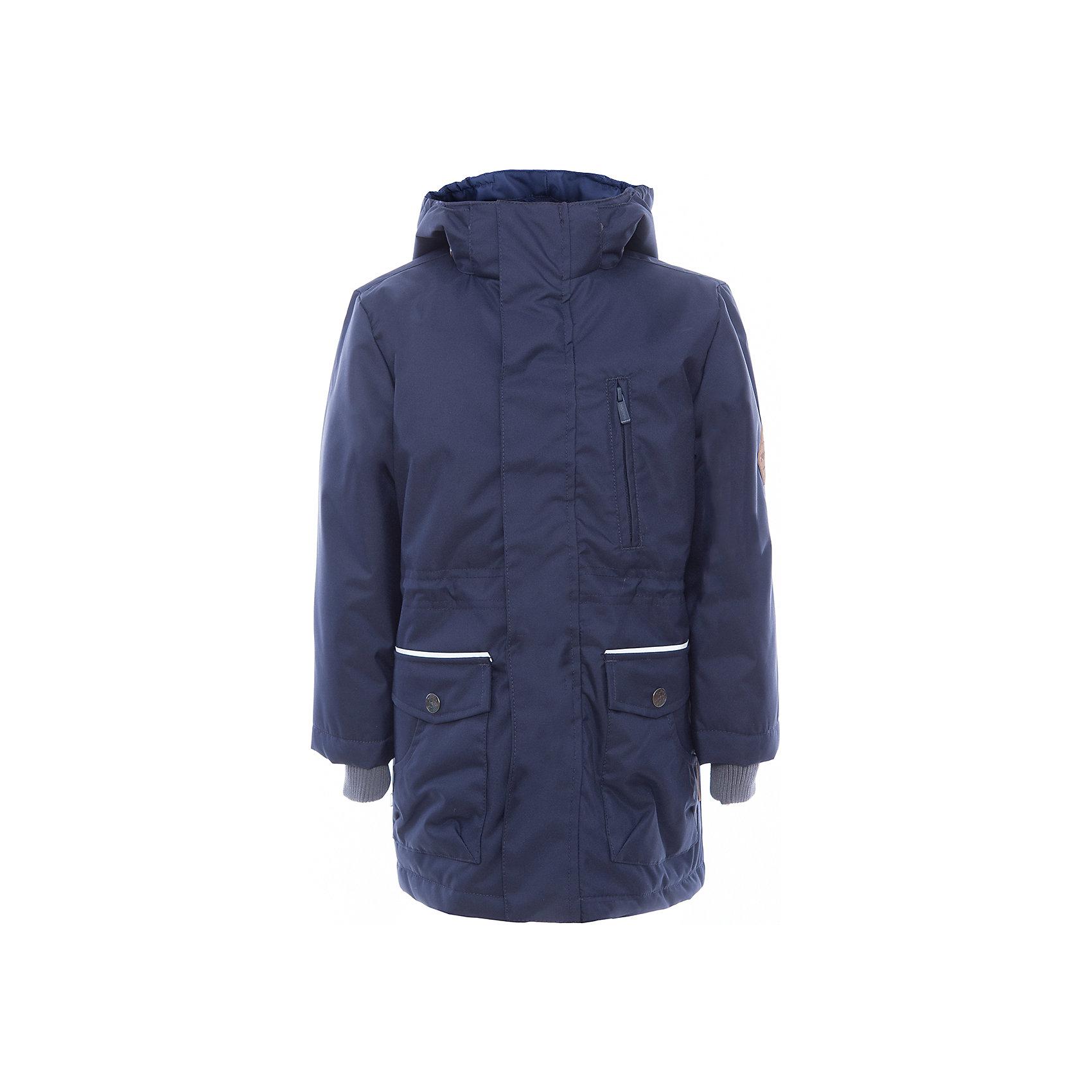 Куртка для мальчика ROLF HuppaДемисезонные куртки<br>Характеристики товара:<br><br>• цвет: тёмно-синий<br>• ткань: 100% полиэстер<br>• подкладка: тафта - 100% полиэстер<br>• утеплитель: 100% полиэстер 100 г<br>• температурный режим: от -5°С до +10°С<br>• водонепроницаемость: 10000 мм<br>• воздухопроницаемость: 10000 мм<br>• светоотражающие детали<br>• эластичные манжеты<br>• молния<br>• плечевые швы проклеены<br>• карманы на молнии<br>• эластичный шнур + фиксатор<br>• съёмный капюшон с резинкой<br>• внутренние вязаные манжеты<br>• комфортная посадка<br>• коллекция: весна-лето 2017<br>• страна бренда: Эстония<br><br>Эта стильная куртка обеспечит детям тепло и комфорт. Она сделана из материала, отталкивающего воду, и дополнено подкладкой с утеплителем, поэтому изделие идеально подходит для межсезонья. Материал изделия - с мембранной технологией: защищая от влаги и ветра, он легко выводит лишнюю влагу наружу. Для удобства сделан капюшон. Куртка очень симпатично смотрится, яркая расцветка и крой добавляют ему оригинальности. Модель была разработана специально для детей.<br><br>Одежда и обувь от популярного эстонского бренда Huppa - отличный вариант одеть ребенка можно и комфортно. Вещи, выпускаемые компанией, качественные, продуманные и очень удобные. Для производства изделий используются только безопасные для детей материалы. Продукция от Huppa порадует и детей, и их родителей!<br><br>Куртку для мальчика ROLF от бренда Huppa (Хуппа) можно купить в нашем интернет-магазине.<br><br>Ширина мм: 356<br>Глубина мм: 10<br>Высота мм: 245<br>Вес г: 519<br>Цвет: синий<br>Возраст от месяцев: 108<br>Возраст до месяцев: 120<br>Пол: Мужской<br>Возраст: Детский<br>Размер: 140,104,110,116,146,122,152,128,158,164,134,170<br>SKU: 5347075