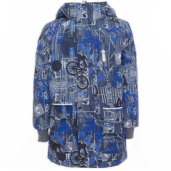 Куртка для мальчика ROLF HuppaВерхняя одежда<br>Характеристики товара:<br><br>• цвет: синий принт<br>• ткань: 100% полиэстер<br>• подкладка: тафта - 100% полиэстер<br>• утеплитель: 100% полиэстер 100 г<br>• температурный режим: от -5°С до +10°С<br>• водонепроницаемость: 10000 мм<br>• воздухопроницаемость: 10000 мм<br>• светоотражающие детали<br>• эластичные манжеты<br>• молния<br>• плечевые швы проклеены<br>• карманы на молнии<br>• эластичный шнур + фиксатор<br>• съёмный капюшон с резинкой<br>• внутренние вязаные манжеты<br>• комфортная посадка<br>• коллекция: весна-лето 2017<br>• страна бренда: Эстония<br><br>Эта стильная куртка обеспечит детям тепло и комфорт. Она сделана из материала, отталкивающего воду, и дополнено подкладкой с утеплителем, поэтому изделие идеально подходит для межсезонья. Материал изделия - с мембранной технологией: защищая от влаги и ветра, он легко выводит лишнюю влагу наружу. Для удобства сделан капюшон. Куртка очень симпатично смотрится, яркая расцветка и крой добавляют ему оригинальности. Модель была разработана специально для детей.<br><br>Одежда и обувь от популярного эстонского бренда Huppa - отличный вариант одеть ребенка можно и комфортно. Вещи, выпускаемые компанией, качественные, продуманные и очень удобные. Для производства изделий используются только безопасные для детей материалы. Продукция от Huppa порадует и детей, и их родителей!<br><br>Куртку для мальчика ROLF от бренда Huppa (Хуппа) можно купить в нашем интернет-магазине.<br>Ширина мм: 356; Глубина мм: 10; Высота мм: 245; Вес г: 519; Цвет: синий; Возраст от месяцев: 36; Возраст до месяцев: 48; Пол: Мужской; Возраст: Детский; Размер: 104,158,152,146,140,134,128,122,116,110; SKU: 5347099;