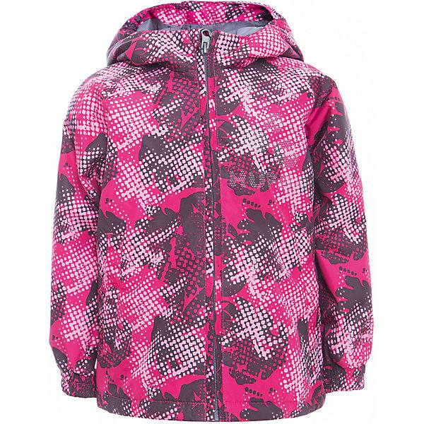 Куртка CLASSY для девочки HuppaВерхняя одежда<br>Характеристики товара:<br><br>• цвет: фуксия принт<br>• ткань: 100% полиэстер<br>• подкладка: тафта - 100% полиэстер<br>• утеплитель: 100% полиэстер 100 г<br>• температурный режим: от -5°С до +10°С<br>• водонепроницаемость: 10000 мм<br>• воздухопроницаемость: 10000 мм<br>• светоотражающие детали<br>• эластичные манжеты<br>• молния<br>• капюшон с резинкой<br>• капюшон не отстёгивается<br>• карманы<br>• комфортная посадка<br>• коллекция: весна-лето 2017<br>• страна бренда: Эстония<br><br>Эта стильная куртка обеспечит детям тепло и комфорт. Она сделана из материала, отталкивающего воду, и дополнено подкладкой с утеплителем, поэтому изделие идеально подходит для межсезонья. Материал изделия - с мембранной технологией: защищая от влаги и ветра, он легко выводит лишнюю влагу наружу. Для удобства сделан капюшон. Куртка очень симпатично смотрится, яркая расцветка и крой добавляют ему оригинальности. Модель была разработана специально для детей.<br><br>Одежда и обувь от популярного эстонского бренда Huppa - отличный вариант одеть ребенка можно и комфортно. Вещи, выпускаемые компанией, качественные, продуманные и очень удобные. Для производства изделий используются только безопасные для детей материалы. Продукция от Huppa порадует и детей, и их родителей!<br><br>Куртку CLASSY от бренда Huppa (Хуппа) можно купить в нашем интернет-магазине.<br>Ширина мм: 356; Глубина мм: 10; Высота мм: 245; Вес г: 519; Цвет: лиловый; Возраст от месяцев: 18; Возраст до месяцев: 24; Пол: Женский; Возраст: Детский; Размер: 92,152,146,140,134,128,122,116,110,104,98; SKU: 5347122;