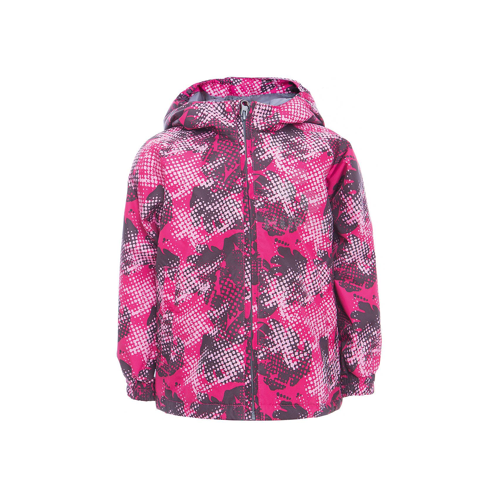 Куртка CLASSY для девочки HuppaДемисезонные куртки<br>Характеристики товара:<br><br>• цвет: фуксия принт<br>• ткань: 100% полиэстер<br>• подкладка: тафта - 100% полиэстер<br>• утеплитель: 100% полиэстер 100 г<br>• температурный режим: от -5°С до +10°С<br>• водонепроницаемость: 10000 мм<br>• воздухопроницаемость: 10000 мм<br>• светоотражающие детали<br>• эластичные манжеты<br>• молния<br>• капюшон с резинкой<br>• капюшон не отстёгивается<br>• карманы<br>• комфортная посадка<br>• коллекция: весна-лето 2017<br>• страна бренда: Эстония<br><br>Эта стильная куртка обеспечит детям тепло и комфорт. Она сделана из материала, отталкивающего воду, и дополнено подкладкой с утеплителем, поэтому изделие идеально подходит для межсезонья. Материал изделия - с мембранной технологией: защищая от влаги и ветра, он легко выводит лишнюю влагу наружу. Для удобства сделан капюшон. Куртка очень симпатично смотрится, яркая расцветка и крой добавляют ему оригинальности. Модель была разработана специально для детей.<br><br>Одежда и обувь от популярного эстонского бренда Huppa - отличный вариант одеть ребенка можно и комфортно. Вещи, выпускаемые компанией, качественные, продуманные и очень удобные. Для производства изделий используются только безопасные для детей материалы. Продукция от Huppa порадует и детей, и их родителей!<br><br>Куртку CLASSY от бренда Huppa (Хуппа) можно купить в нашем интернет-магазине.<br><br>Ширина мм: 356<br>Глубина мм: 10<br>Высота мм: 245<br>Вес г: 519<br>Цвет: фиолетовый<br>Возраст от месяцев: 108<br>Возраст до месяцев: 120<br>Пол: Женский<br>Возраст: Детский<br>Размер: 140,146,152,92,98,104,110,116,122,128,134<br>SKU: 5347122