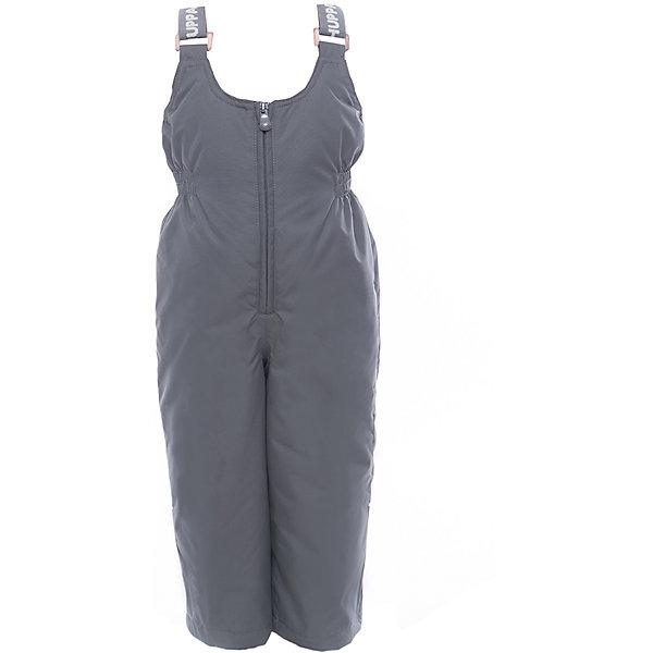 Полукомбинезон JORMA HuppaВерхняя одежда<br>Характеристики товара:<br><br>• цвет: серый<br>• ткань: 100% полиэстер<br>• подкладка: тафта - 100% полиэстер<br>• утеплитель: 100% полиэстер 100 г<br>• температурный режим: от -5°С до +10°С<br>• водонепроницаемость: 10000 мм<br>• воздухопроницаемость: 10000 мм<br>• светоотражающие детали<br>• шов сидения проклеен<br>• регулируемые низы брючин<br>• эластичный шнурок + фиксатор<br>• без внутренних швов<br>• резиновые подтяжки<br>• комфортная посадка<br>• коллекция: весна-лето 2017<br>• страна бренда: Эстония<br><br>Эти утепленные брюки обеспечат детям тепло и комфорт. Они сделаны из материала, отталкивающего воду, и дополнены подкладкой с утеплителем, поэтому изделие идеально подходит для межсезонья. Материал изделия - с мембранной технологией: защищая от влаги и ветра, он легко выводит лишнюю влагу наружу. Для удобства лямки сделаны регулиющимися, а манжеты - эластичными. Брюки очень симпатично смотрятся. Модель была разработана специально для детей.<br><br>Одежда и обувь от популярного эстонского бренда Huppa - отличный вариант одеть ребенка можно и комфортно. Вещи, выпускаемые компанией, качественные, продуманные и очень удобные. Для производства изделий используются только безопасные для детей материалы. Продукция от Huppa порадует и детей, и их родителей!<br><br>Брюки JORMA от бренда Huppa (Хуппа) можно купить в нашем интернет-магазине.<br><br>Ширина мм: 215<br>Глубина мм: 88<br>Высота мм: 191<br>Вес г: 336<br>Цвет: серый<br>Возраст от месяцев: 96<br>Возраст до месяцев: 108<br>Пол: Унисекс<br>Возраст: Детский<br>Размер: 134,92,98,104,110,116,122,128<br>SKU: 5347191