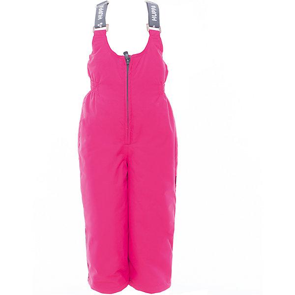 Полукомбинезон JORMA для девочки HuppaВерхняя одежда<br>Характеристики товара:<br><br>• цвет: фуксия<br>• ткань: 100% полиэстер<br>• подкладка: тафта - 100% полиэстер<br>• утеплитель: 100% полиэстер 100 г<br>• температурный режим: от -5°С до +10°С<br>• водонепроницаемость: 10000 мм<br>• воздухопроницаемость: 10000 мм<br>• светоотражающие детали<br>• шов сидения проклеен<br>• регулируемые низы брючин<br>• эластичный шнурок + фиксатор<br>• без внутренних швов<br>• резиновые подтяжки<br>• комфортная посадка<br>• коллекция: весна-лето 2017<br>• страна бренда: Эстония<br><br>Эти утепленные брюки обеспечат детям тепло и комфорт. Они сделаны из материала, отталкивающего воду, и дополнены подкладкой с утеплителем, поэтому изделие идеально подходит для межсезонья. Материал изделия - с мембранной технологией: защищая от влаги и ветра, он легко выводит лишнюю влагу наружу. Для удобства лямки сделаны регулиющимися, а манжеты - эластичными. Брюки очень симпатично смотрятся. Модель была разработана специально для детей.<br><br>Одежда и обувь от популярного эстонского бренда Huppa - отличный вариант одеть ребенка можно и комфортно. Вещи, выпускаемые компанией, качественные, продуманные и очень удобные. Для производства изделий используются только безопасные для детей материалы. Продукция от Huppa порадует и детей, и их родителей!<br><br>Брюки JORMA от бренда Huppa (Хуппа) можно купить в нашем интернет-магазине.<br><br>Ширина мм: 215<br>Глубина мм: 88<br>Высота мм: 191<br>Вес г: 336<br>Цвет: лиловый<br>Возраст от месяцев: 18<br>Возраст до месяцев: 24<br>Пол: Женский<br>Возраст: Детский<br>Размер: 92,134,128,122,116,110,104,98<br>SKU: 5347200
