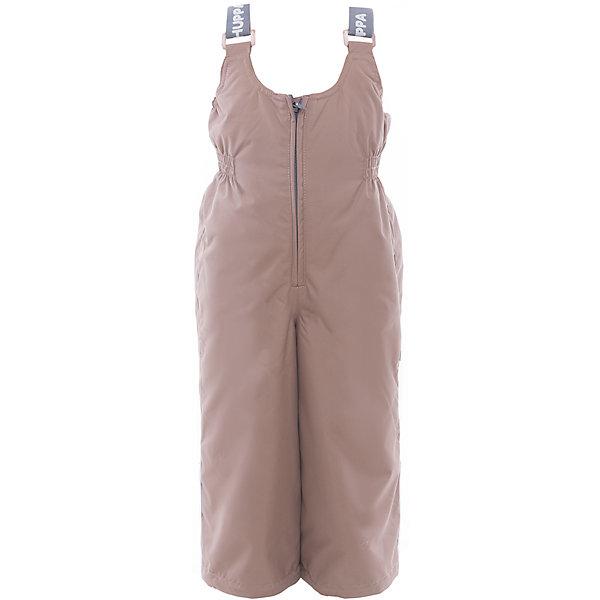 Полукомбинезон JORMA для девочки HuppaВерхняя одежда<br>Характеристики товара:<br><br>• цвет: бежевый<br>• ткань: 100% полиэстер<br>• подкладка: тафта - 100% полиэстер<br>• утеплитель: 100% полиэстер 100 г<br>• температурный режим: от -5°С до +10°С<br>• водонепроницаемость: 10000 мм<br>• воздухопроницаемость: 10000 мм<br>• светоотражающие детали<br>• шов сидения проклеен<br>• регулируемые низы брючин<br>• эластичный шнурок + фиксатор<br>• без внутренних швов<br>• резиновые подтяжки<br>• комфортная посадка<br>• коллекция: весна-лето 2017<br>• страна бренда: Эстония<br><br>Эти утепленные брюки обеспечат детям тепло и комфорт. Они сделаны из материала, отталкивающего воду, и дополнены подкладкой с утеплителем, поэтому изделие идеально подходит для межсезонья. Материал изделия - с мембранной технологией: защищая от влаги и ветра, он легко выводит лишнюю влагу наружу. Для удобства лямки сделаны регулиющимися, а манжеты - эластичными. Брюки очень симпатично смотрятся. Модель была разработана специально для детей.<br><br>Одежда и обувь от популярного эстонского бренда Huppa - отличный вариант одеть ребенка можно и комфортно. Вещи, выпускаемые компанией, качественные, продуманные и очень удобные. Для производства изделий используются только безопасные для детей материалы. Продукция от Huppa порадует и детей, и их родителей!<br><br>Брюки JORMA от бренда Huppa (Хуппа) можно купить в нашем интернет-магазине.<br><br>Ширина мм: 215<br>Глубина мм: 88<br>Высота мм: 191<br>Вес г: 336<br>Цвет: бежевый<br>Возраст от месяцев: 96<br>Возраст до месяцев: 108<br>Пол: Унисекс<br>Возраст: Детский<br>Размер: 134,92,98,104,110,116,122,128<br>SKU: 5347218