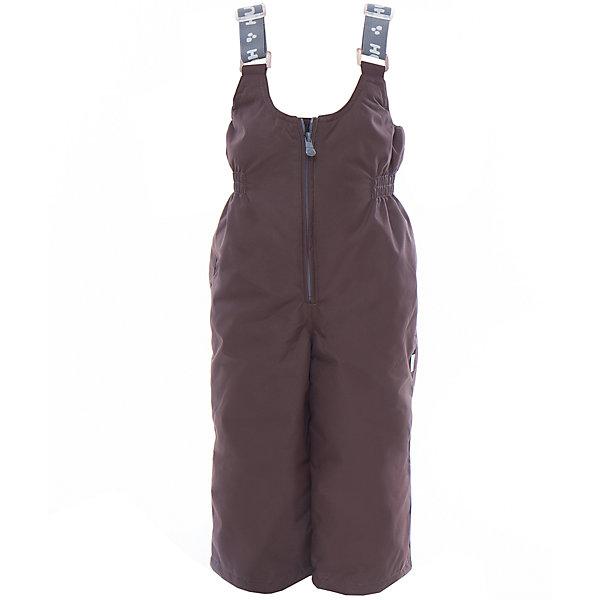 Полукомбинезон JORMA HuppaВерхняя одежда<br>Характеристики товара:<br><br>• цвет: коричневый<br>• ткань: 100% полиэстер<br>• подкладка: тафта - 100% полиэстер<br>• утеплитель: 100% полиэстер 100 г<br>• температурный режим: от -5°С до +10°С<br>• водонепроницаемость: 10000 мм<br>• воздухопроницаемость: 10000 мм<br>• светоотражающие детали<br>• шов сидения проклеен<br>• регулируемые низы брючин<br>• эластичный шнурок + фиксатор<br>• без внутренних швов<br>• резиновые подтяжки<br>• комфортная посадка<br>• коллекция: весна-лето 2017<br>• страна бренда: Эстония<br><br>Эти утепленные брюки обеспечат детям тепло и комфорт. Они сделаны из материала, отталкивающего воду, и дополнены подкладкой с утеплителем, поэтому изделие идеально подходит для межсезонья. Материал изделия - с мембранной технологией: защищая от влаги и ветра, он легко выводит лишнюю влагу наружу. Для удобства лямки сделаны регулиющимися, а манжеты - эластичными. Брюки очень симпатично смотрятся. Модель была разработана специально для детей.<br><br>Одежда и обувь от популярного эстонского бренда Huppa - отличный вариант одеть ребенка можно и комфортно. Вещи, выпускаемые компанией, качественные, продуманные и очень удобные. Для производства изделий используются только безопасные для детей материалы. Продукция от Huppa порадует и детей, и их родителей!<br><br>Брюки JORMA от бренда Huppa (Хуппа) можно купить в нашем интернет-магазине.<br>Ширина мм: 215; Глубина мм: 88; Высота мм: 191; Вес г: 336; Цвет: коричневый; Возраст от месяцев: 18; Возраст до месяцев: 24; Пол: Унисекс; Возраст: Детский; Размер: 92,134,128,122,116,110,104,98; SKU: 5347245;