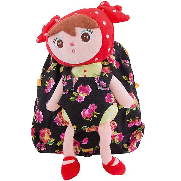 Рюкзак VITACCIДетские сумки<br>Характеристики:<br><br>• Тип сумки: рюкзак<br>• Пол: для девочки<br>• Цвет: красный, черный<br>• Сезон: круглый год<br>• Тематика рисунка: цветы<br>• Тип застежки: молния<br>• Лямки регулируются по длине<br>• Одно отделение <br>• Предусмотрена ручка-петля<br>• Наличие внутреннего кармана<br>• Наличие игрушки-куколки на липучке<br>• Материал: текстиль <br>• Габариты: ширина днища – 9 см, высота – 26 см<br>• Размеры лямок (Ш*Д): 14*22 см<br>• Вес: 400 г<br>• Особенности ухода: влажная чистка, сухая чистка<br><br>Рюкзак VITACCI от лидера российско-итальянского предприятия, которое специализируется на выпуске высококачественной обуви и аксессуаров как для взрослых, так и для детей. Детские сумки этого торгового бренда изготавливаются с учетом анатомических особенностей детей и имеют эргономичную форму. Форма и дизайн сумок разрабатывается итальянскими ведущими дизайнерами и отражает новейшие тенденции в мире моды. Особенность этого торгового бренда заключается в эксклюзивном сочетании материалов разных фактур и декорирование изделий стильными аксессуарами. <br><br>Рюкзак VITACCI изготовлен из экологически безопасного и гипоаллергенного текстиля. У рюкзака предусмотрено одно просторное отделение с внутренним карманом. Лямки регулируются по длине. Рюкзак выполнен в стильном дизайне: крупный цветочный принт на темном фоне. Спереди у рюкзака предусмотрен кармашек, в котором сидит милая мягкая куколка. С таким рюкзачком особенно приятно отправляться в дальние поездки и путешествия!<br><br>Рюкзак VITACCI – это стильный аксессуар, который создаст неповторимый образ вашего ребенка! <br><br>Рюкзак VITACCI можно купить в нашем интернет-магазине.<br><br>Ширина мм: 170<br>Глубина мм: 157<br>Высота мм: 67<br>Вес г: 117<br>Цвет: черный<br>Возраст от месяцев: 36<br>Возраст до месяцев: 144<br>Пол: Женский<br>Возраст: Детский<br>Размер: one size<br>SKU: 5347411