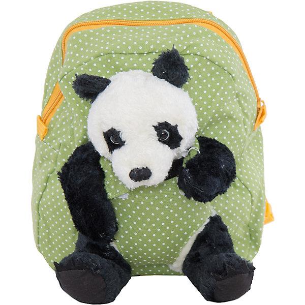 Рюкзак VITACCIДетские сумки<br>Характеристики:<br><br>• Тип сумки: рюкзак<br>• Пол: универсальный<br>• Цвет: зеленый<br>• Сезон: круглый год<br>• Тематика рисунка: горох<br>• Тип застежки: молния<br>• Лямки регулируются по длине<br>• Одно отделение <br>• Предусмотрена ручка-петля<br>• Наличие внутреннего кармана<br>• Наличие игрушки-медвежонка на липучке<br>• Материал: текстиль <br>• Габариты: ширина днища – 9 см, высота – 26 см<br>• Размеры лямок (Ш*Д): 14*22 см<br>• Вес: 400 г<br>• Особенности ухода: влажная чистка, сухая чистка<br><br>Рюкзак VITACCI от лидера российско-итальянского предприятия, которое специализируется на выпуске высококачественной обуви и аксессуаров как для взрослых, так и для детей. Детские сумки этого торгового бренда изготавливаются с учетом анатомических особенностей детей и имеют эргономичную форму. Форма и дизайн сумок разрабатывается итальянскими ведущими дизайнерами и отражает новейшие тенденции в мире моды. Особенность этого торгового бренда заключается в эксклюзивном сочетании материалов разных фактур и декорирование изделий стильными аксессуарами. <br><br>Рюкзак VITACCI изготовлен из экологически безопасного и гипоаллергенного текстиля. У рюкзака предусмотрено одно просторное отделение с внутренним карманом. Яркие лямки регулируются по длине. Рюкзак выполнен в стильном дизайне: рисунок в мелкий горошек из контрастных цветов. Спереди у рюкзака предусмотрен кармашек, в котором сидит очаровательный мягкий медвежонок-панда. С таким рюкзачком особенно приятно отправляться в дальние поездки и путешествия!<br><br>Рюкзак VITACCI – это стильный аксессуар, который создаст неповторимый образ вашего ребенка! <br><br>Рюкзак VITACCI можно купить в нашем интернет-магазине.<br>Ширина мм: 170; Глубина мм: 157; Высота мм: 67; Вес г: 117; Цвет: зеленый; Возраст от месяцев: 36; Возраст до месяцев: 144; Пол: Мужской; Возраст: Детский; Размер: one size; SKU: 5347415;