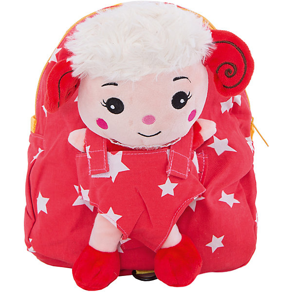 Рюкзак VITACCIДетские сумки<br>Характеристики:<br><br>• Тип сумки: рюкзак<br>• Пол: универсальный<br>• Цвет: красный<br>• Сезон: круглый год<br>• Тематика рисунка: звезды<br>• Тип застежки: молния<br>• Лямки регулируются по длине<br>• Одно отделение <br>• Предусмотрена ручка-петля<br>• Наличие внутреннего кармана<br>• Наличие игрушки-барашка на липучке<br>• Материал: текстиль <br>• Габариты: ширина днища – 9 см, высота – 26 см<br>• Размеры лямок (Ш*Д): 14*22 см<br>• Вес: 400 г<br>• Особенности ухода: влажная чистка, сухая чистка<br><br>Рюкзак VITACCI от лидера российско-итальянского предприятия, которое специализируется на выпуске высококачественной обуви и аксессуаров как для взрослых, так и для детей. Детские сумки этого торгового бренда изготавливаются с учетом анатомических особенностей детей и имеют эргономичную форму. Форма и дизайн сумок разрабатывается итальянскими ведущими дизайнерами и отражает новейшие тенденции в мире моды. Особенность этого торгового бренда заключается в эксклюзивном сочетании материалов разных фактур и декорирование изделий стильными аксессуарами. <br><br>Рюкзак VITACCI изготовлен из экологически безопасного и гипоаллергенного текстиля. У рюкзака предусмотрено одно просторное отделение с внутренним карманом. Лямки регулируются по длине. Рюкзак выполнен в стильном дизайне: рисунок в мелкий горошек из контрастных цветов. Спереди у рюкзака предусмотрен кармашек, в котором сидит очаровательный мягкий барашек. С таким рюкзачком особенно приятно отправляться в дальние поездки и путешествия!<br><br>Рюкзак VITACCI – это стильный аксессуар, который создаст неповторимый образ вашего ребенка! <br><br>Рюкзак VITACCI можно купить в нашем интернет-магазине.<br><br>Ширина мм: 170<br>Глубина мм: 157<br>Высота мм: 67<br>Вес г: 117<br>Цвет: красный<br>Возраст от месяцев: 36<br>Возраст до месяцев: 144<br>Пол: Женский<br>Возраст: Детский<br>Размер: one size<br>SKU: 5347423