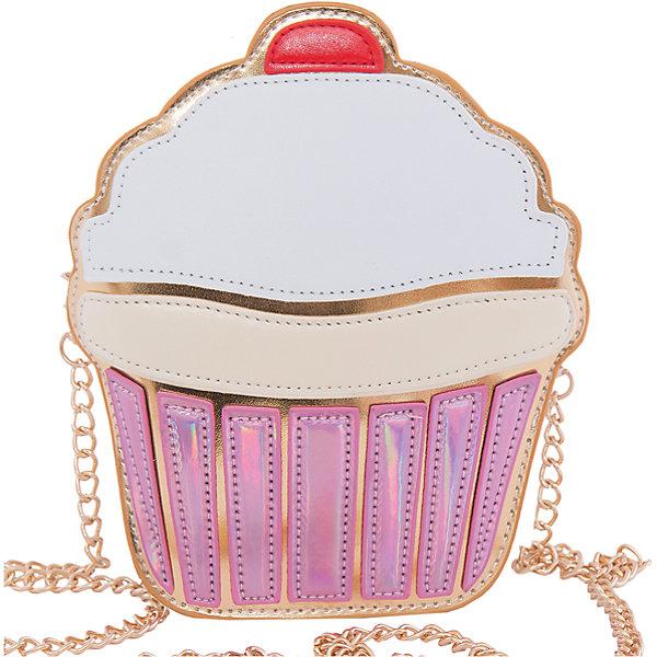Сумка VITACCIАксессуары<br>Характеристики:<br><br>• Тип сумки: вечерняя сумочка<br>• Пол: для девочки<br>• Цвет: белый, розовый<br>• Сезон: весна-лето<br>• Тематика рисунка: десерт<br>• Тип застежки: молния<br>• Съемный ремешок-цепочка<br>• Одно отделение <br>• Материал: верх – искусственная кожа, подклад – текстиль <br>• Габариты: ширина – 16 см, высота – 19 см, глубина – 5 см<br>• Вес: 320 г<br>• Особенности ухода: влажная чистка, сухая чистка<br><br>Сумка VITACCI от лидера российско-итальянского предприятия, которое специализируется на выпуске высококачественной обуви и аксессуаров как для взрослых, так и для детей. Детские сумки этого торгового бренда изготавливаются с учетом анатомических особенностей детей и имеют эргономичную форму. Форма и дизайн сумок разрабатывается итальянскими ведущими дизайнерами и отражает новейшие тенденции в мире моды. Особенность этого торгового бренда заключается в эксклюзивном сочетании материалов разных фактур и декорирование изделий стильными аксессуарами. <br><br>Сумка VITACCI изготовлена из экологически безопасной искусственной кожи. Имеет одно просторное отделение. Съемный плечевой ремешок изготовлен из цепочки золотистого цвета. Сумка выполнена в оригинальном дизайне: Передняя часть сумки имитирует пирожное капкейк с белой глазурью. <br>Сумка VITACCI – это стильный аксессуар, который создаст неповторимый праздничный образ вашей девочки! <br><br>Сумку VITACCI можно купить в нашем интернет-магазине.<br>Ширина мм: 170; Глубина мм: 157; Высота мм: 67; Вес г: 117; Цвет: розовый; Возраст от месяцев: 36; Возраст до месяцев: 144; Пол: Женский; Возраст: Детский; Размер: one size; SKU: 5347515;