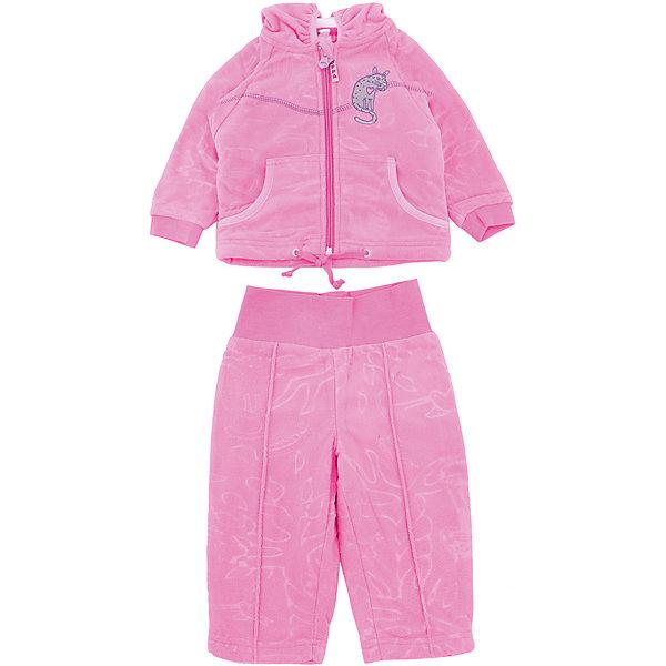 Комплект флисовый JACOBI для девочки HuppaФлис и термобелье<br>Характеристики товара:<br><br>• цвет: розовый<br>• состав: 100% полиэстер (флис), подкладка - 100% хлопок<br>• комплектация: курточка, брюки<br>• застежка: молния<br>• капюшон<br>• мягкие манжеты на куртке<br>• декорирована вышивкой<br>• комфортная посадка<br>• пояс брюк - мягкая резинка<br>• мягкий материал<br>• страна бренда: Эстония<br><br>Такой комплект обеспечит малышам тепло и комфорт. Он сделан из приятного на ощупь материала с мягким ворсом, поэтому изделия не колются и не натирают. Подкладка выполнена из дышащего и гипоаллергенного хлопка. Комплект очень симпатично смотрится, яркая расцветка и отделка добавляют ему оригинальности. Модель была разработана специально для малышей.<br><br>Одежда и обувь от популярного эстонского бренда Huppa - отличный вариант одеть ребенка можно и комфортно. Вещи, выпускаемые компанией, качественные, продуманные и очень удобные. Для производства изделий используются только безопасные для детей материалы. Продукция от Huppa порадует и детей, и их родителей!<br><br>Комплект флисовый JACOBI от бренда Huppa (Хуппа) можно купить в нашем интернет-магазине.<br><br>Ширина мм: 190<br>Глубина мм: 74<br>Высота мм: 229<br>Вес г: 236<br>Цвет: розовый<br>Возраст от месяцев: 18<br>Возраст до месяцев: 24<br>Пол: Женский<br>Возраст: Детский<br>Размер: 92,62,86,80,74,68<br>SKU: 5347533