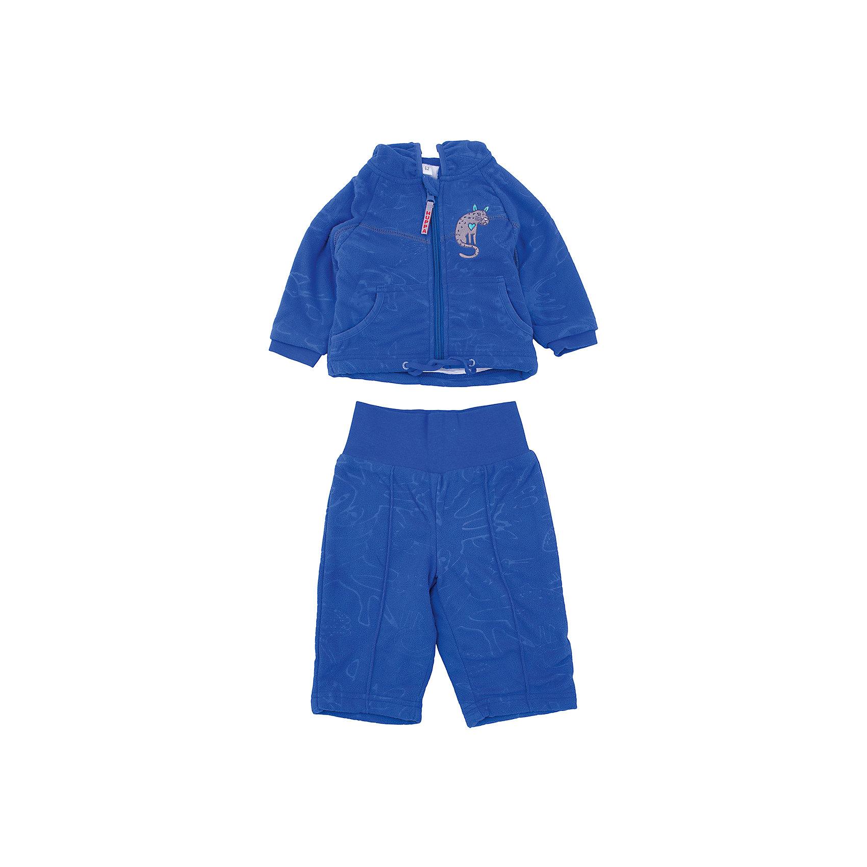 Комплект флисовый JACOBI для мальчика HuppaФлис и термобелье<br>Характеристики товара:<br><br>• цвет: синий<br>• состав: 100% полиэстер (флис), подкладка - 100% хлопок<br>• комплектация: курточка, брюки<br>• застежка: молния<br>• капюшон<br>• мягкие манжеты на куртке<br>• декорирована вышивкой<br>• комфортная посадка<br>• пояс брюк - мягкая резинка<br>• мягкий материал<br>• страна бренда: Эстония<br><br>Такой комплект обеспечит малышам тепло и комфорт. Он сделан из приятного на ощупь материала с мягким ворсом, поэтому изделия не колются и не натирают. Подкладка выполнена из дышащего и гипоаллергенного хлопка. Комплект очень симпатично смотрится, яркая расцветка и отделка добавляют ему оригинальности. Модель была разработана специально для малышей.<br><br>Одежда и обувь от популярного эстонского бренда Huppa - отличный вариант одеть ребенка можно и комфортно. Вещи, выпускаемые компанией, качественные, продуманные и очень удобные. Для производства изделий используются только безопасные для детей материалы. Продукция от Huppa порадует и детей, и их родителей!<br><br>Комплект флисовый JACOBI от бренда Huppa (Хуппа) можно купить в нашем интернет-магазине.<br><br>Ширина мм: 190<br>Глубина мм: 74<br>Высота мм: 229<br>Вес г: 236<br>Цвет: синий<br>Возраст от месяцев: 2<br>Возраст до месяцев: 5<br>Пол: Мужской<br>Возраст: Детский<br>Размер: 62,80,92,86,68,74<br>SKU: 5347547