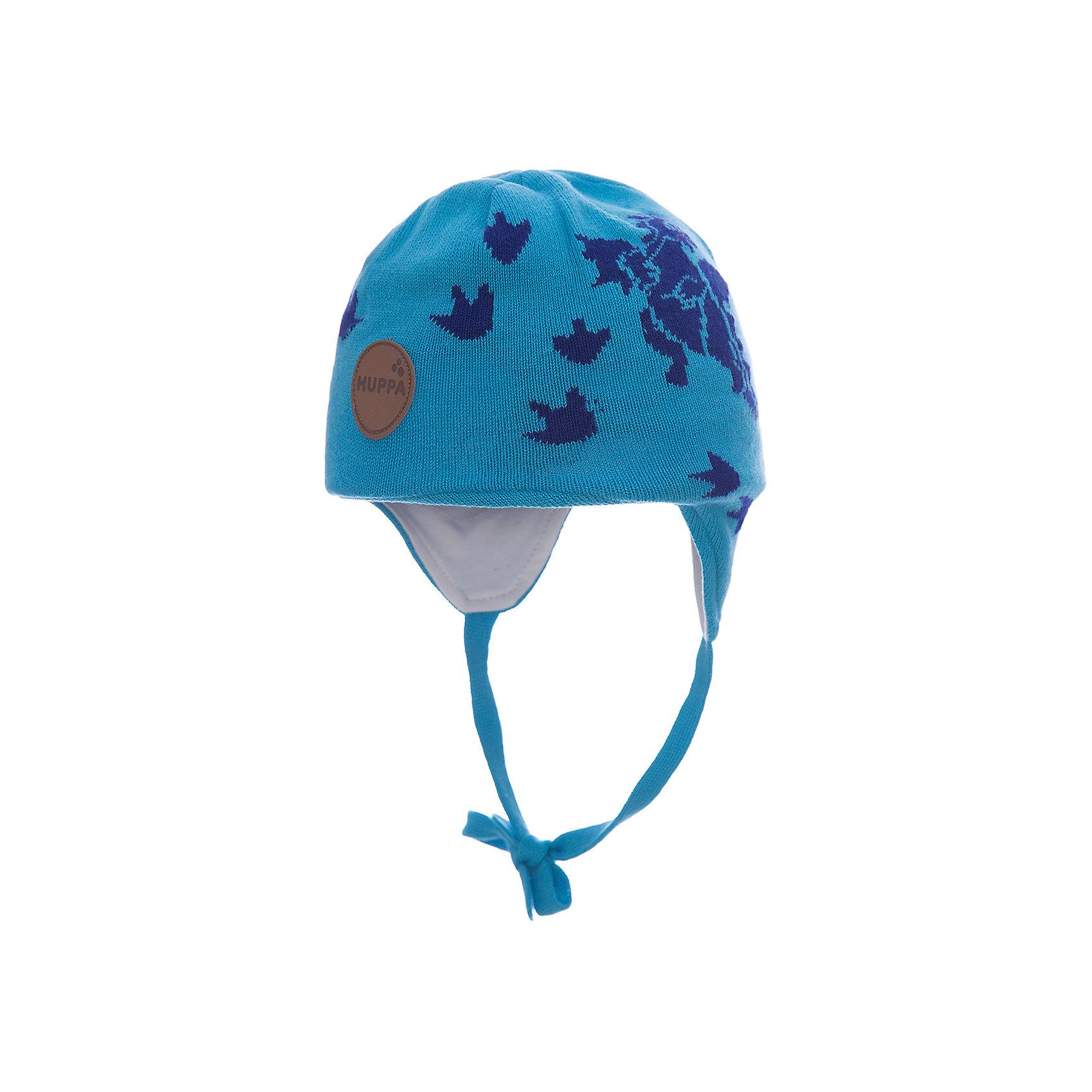 Шапка SILBY для мальчика HuppaГоловные уборы<br>Характеристики товара:<br><br>• цвет: голубой<br>• состав: 60% хлопок, 40% акрил<br>• подкладка: трикотаж - 100% хлопок<br>• температурный режим: от -5°С до +10°С<br>• демисезонная<br>• принт<br>• защита ушей<br>• комфортная посадка<br>• завязки<br>• мягкий материал<br>• страна бренда: Эстония<br><br>Эта шапка обеспечит детям тепло и комфорт. Она сделана из приятного на ощупь мягкого материала. Шапка очень симпатично смотрится, а дизайн и расцветка позволяют сочетать её с различной одеждой. Модель была разработана специально для детей.<br><br>Одежда и обувь от популярного эстонского бренда Huppa - отличный вариант одеть ребенка можно и комфортно. Вещи, выпускаемые компанией, качественные, продуманные и очень удобные. Для производства изделий используются только безопасные для детей материалы. Продукция от Huppa порадует и детей, и их родителей!<br><br>Шапку SILBY от бренда Huppa (Хуппа) можно купить в нашем интернет-магазине.<br><br>Ширина мм: 89<br>Глубина мм: 117<br>Высота мм: 44<br>Вес г: 155<br>Цвет: голубой<br>Возраст от месяцев: 6<br>Возраст до месяцев: 12<br>Пол: Мужской<br>Возраст: Детский<br>Размер: 43-45,51-53,47-49<br>SKU: 5347698