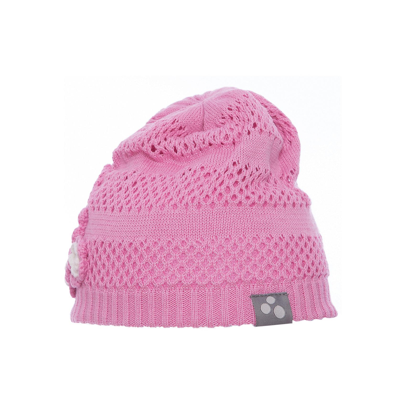 Шапка GLORIA для девочки HuppaГоловные уборы<br>Характеристики товара:<br><br>• цвет: розовый<br>• состав: 100% хлопок <br>• температурный режим: от +5°С до +15°С<br>• демисезонная<br>• хлопковая подкладка<br>• мягкая резинка<br>• украшена цветами<br>• логотип<br>• комфортная посадка<br>• мягкий материал<br>• страна бренда: Эстония<br><br>Такая удобная и красивая шапка обеспечит детям тепло и комфорт. Подкладка сделана из приятного на ощупь дышащего и гипоаллергенного хлопка. Шапка очень симпатично смотрится, а дизайн и расцветка позволяют сочетать её с различной одеждой. Модель была разработана специально для детей.<br><br>Одежда и обувь от популярного эстонского бренда Huppa - отличный вариант одеть ребенка можно и комфортно. Вещи, выпускаемые компанией, качественные, продуманные и очень удобные. Для производства изделий используются только безопасные для детей материалы. Продукция от Huppa порадует и детей, и их родителей!<br><br>Шапку GLORIA от бренда Huppa (Хуппа) можно купить в нашем интернет-магазине.<br><br>Ширина мм: 89<br>Глубина мм: 117<br>Высота мм: 44<br>Вес г: 155<br>Цвет: розовый<br>Возраст от месяцев: 144<br>Возраст до месяцев: 168<br>Пол: Женский<br>Возраст: Детский<br>Размер: 57,55-57,51-53,47-49<br>SKU: 5347740