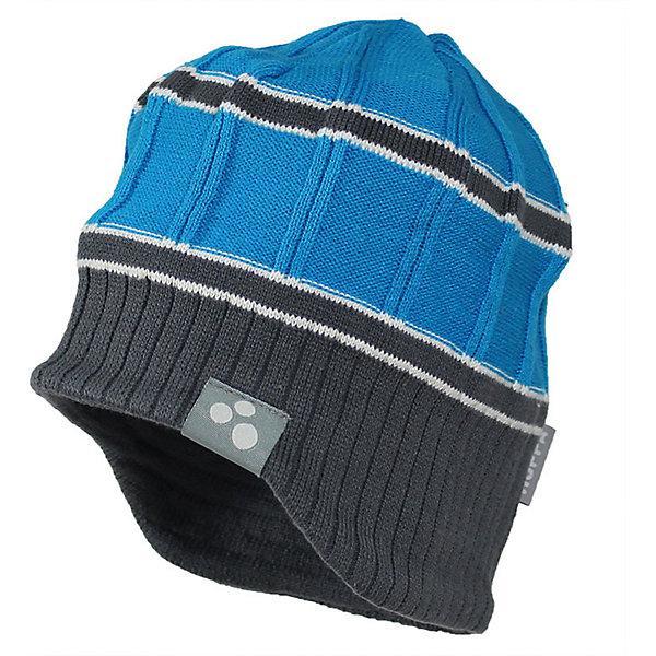 Шапка JARROD для мальчика HuppaДемисезонные<br>Характеристики товара:<br><br>• цвет: голубой<br>• состав: 50% хлопок, 50% акрил<br>• температурный режим: от 0°до +10°С<br>• демисезонная<br>• фактурная вязка<br>• логотип<br>• комфортная посадка<br>• мягкий материал<br>• коллекция: весна-лето 2017<br>• страна бренда: Эстония<br><br>Эта шапка обеспечит детям тепло и комфорт. Подкладка сделана из приятного на ощупь дышащего и гипоаллергенного хлопка. Шапка очень симпатично смотрится, а дизайн и расцветка позволяют сочетать её с различной одеждой. Модель была разработана специально для детей.<br><br>Одежда и обувь от популярного эстонского бренда Huppa - отличный вариант одеть ребенка можно и комфортно. Вещи, выпускаемые компанией, качественные, продуманные и очень удобные. Для производства изделий используются только безопасные для детей материалы. Продукция от Huppa порадует и детей, и их родителей!<br><br>Шапку JARROD от бренда Huppa (Хуппа) можно купить в нашем интернет-магазине.<br>Ширина мм: 89; Глубина мм: 117; Высота мм: 44; Вес г: 155; Цвет: голубой; Возраст от месяцев: 12; Возраст до месяцев: 24; Пол: Мужской; Возраст: Детский; Размер: 47-49,55-57,57,51-53; SKU: 5347850;