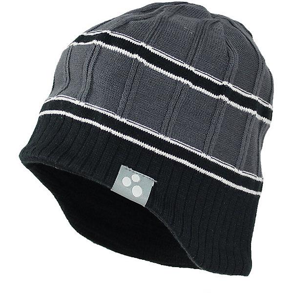 Купить Шапка JARROD для мальчика Huppa, Эстония, серый, 55-57, 57, 47-49, 51-53, Мужской