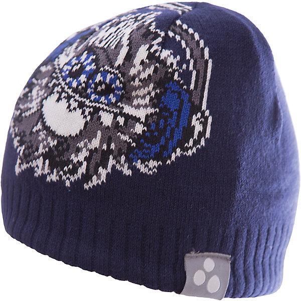 Купить Шапка TANNER для мальчика Huppa, Эстония, синий, 47-49, 55-57, 57, 51-53, Мужской