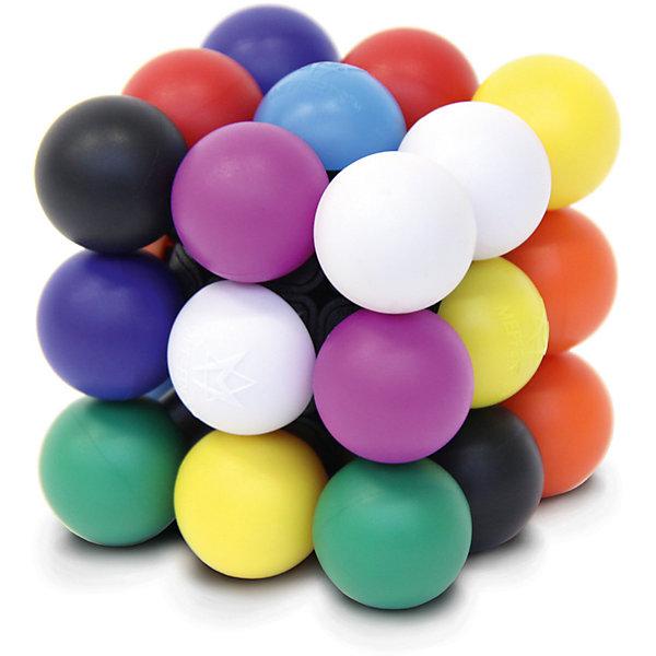 Головоломка Молекуб, MeffertsГоловоломки Кубик Рубика<br>Головоломка Молекуб, Mefferts.<br><br>Характеристики:<br><br>- Возраст: от 7 лет<br>- Размер головоломки: 7х7х7см.<br>- Материал: пластик<br><br>Молекуб от Mefferts – это потрясающая механическая головоломка, которая представляет собой необычный куб, состоящий из 26 молекул – шаров 9 различных цветов. По смыслу этой головоломке подошло бы название Анти-кубик Рубика или кубик Рубика наоборот, ведь задача состоит в том, чтобы собрать на каждой стороне 9 шариков разного цвета. Молекуб так же понравится любителям Судоку. Если предположить, что каждый цвет можно обозначить цифрой от 1 до 9 и у нас всего 26 таких цифр, которые нужно расставить на 6 сторонах куба, то получается, что Молекуб - это такая цветная 3D-Судоку, решить которую весьма непросто. Бренд Mefferts всегда славился своим качеством, вниманием к деталям и дизайном. В Молекубе они превзошли сами себя! Превосходный механизм с щелчками, которые очень приятно ощущаются в руках. Яркие цвета и первоклассный пластик. Никакой окраски - каждый шарик сделан из пластика соответствующего цвета. Головоломка Молекуб произведет впечатление на любого человека, а для коллекционера головоломок станет настоящей жемчужиной.<br><br>Головоломку Молекуб, Mefferts можно купить в нашем интернет-магазине.<br>Ширина мм: 105; Глубина мм: 110; Высота мм: 130; Вес г: 350; Возраст от месяцев: 84; Возраст до месяцев: 2147483647; Пол: Унисекс; Возраст: Детский; SKU: 5348110;