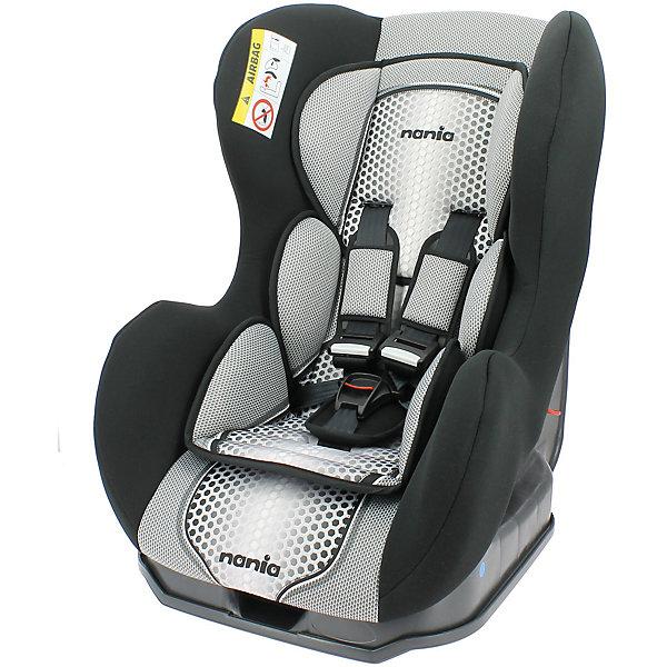 Автокресло Nania Cosmo SP FST 0-18 кг, pop blackГруппа 0-1 (до 18 кг)<br>Характеристики Nania Cosmo SP FST:<br><br>• группа 0+/1;<br>• вес ребенка: до 18 кг;<br>• возраст ребенка: от рождения до 4-х лет;<br>• способ установки: против хода (до 9 кг) и по ходу движения автомобиля (9-18кг);<br>• способ крепления: штатными ремнями безопасности автомобиля;<br>• 5-ти точечные ремни безопасности с мягкими накладками;<br>• угол наклона спинки регулируется: 3 положения;<br>• анатомический вкладыш для новорожденного, подголовник;<br>• дополнительная защита от боковых ударов, система SP (side protection);<br>• съемные чехлы, стирка при температуре 30 градусов;<br>• материал: пластик, полиэстер;<br>• стандарт безопасности: ЕСЕ R44/03.<br><br>Размер автокресла: 54х45х61 см<br>Размер сиденья: 33х31 см<br>Высота спинки: 55 см<br>Вес автокресла: 5,7 кг<br><br>Автокресло Nania Cosmo SP FST устанавливается как по ходу движения, так и против хода движения автомобиля, как на заднем сиденье автомобиля, так и на переднем сиденье автомобиля (с условием отключения подушки безопасности). Регулируемая спинка дает возможность малышу занять удобное положение, как во время сна, так и во время бодрствования. Автокресло соответствует всем стандартам безопасности.<br><br>Автокресло Cosmo SP FST 0-18 кг., Nania, pop black можно купить в нашем интернет-магазине.<br>Ширина мм: 600; Глубина мм: 500; Высота мм: 700; Вес г: 6000; Возраст от месяцев: 0; Возраст до месяцев: 48; Пол: Унисекс; Возраст: Детский; SKU: 5350603;