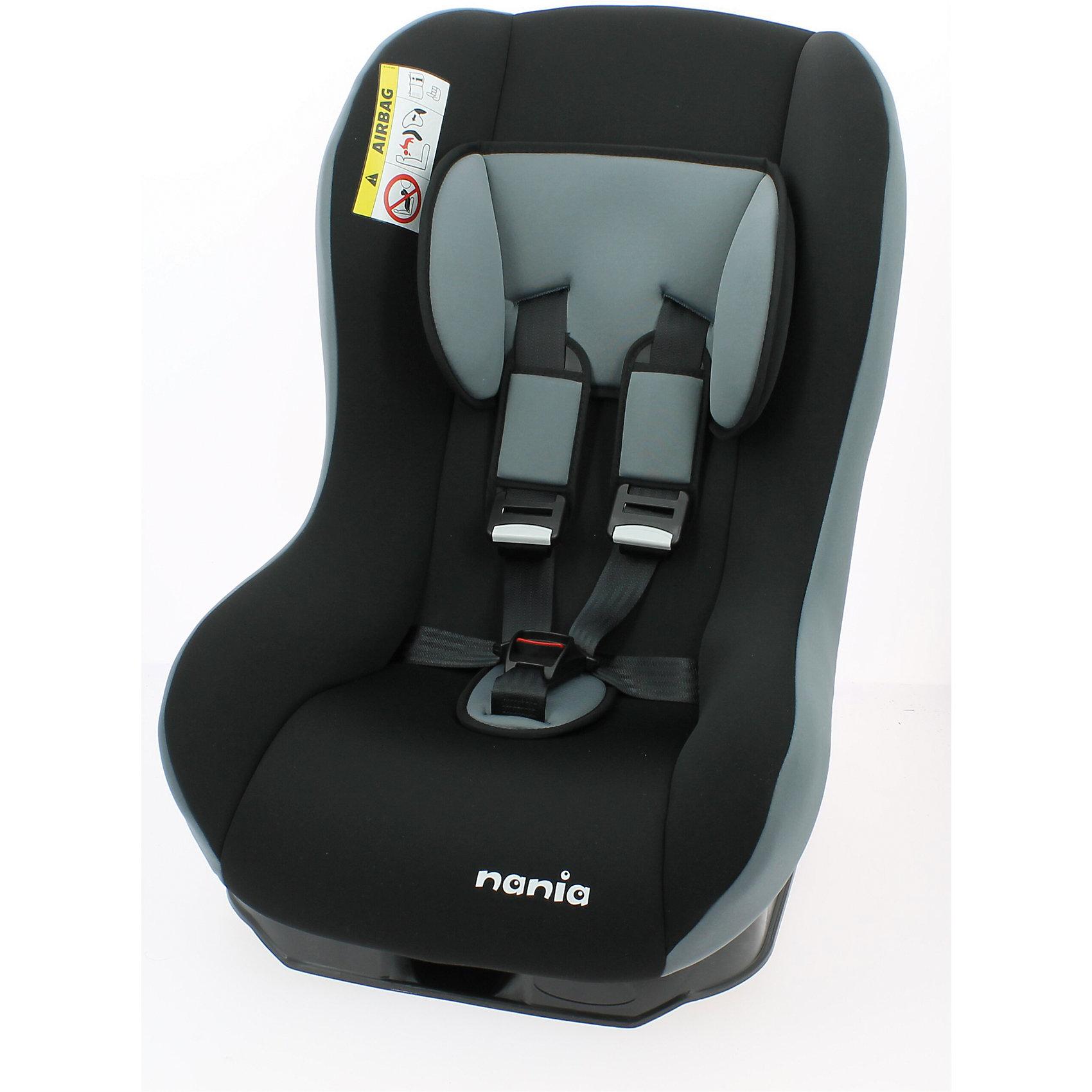 Автокресло Nania Maxim Eco 0-18 кг, rock greyГруппа 0+, 1 (До 18 кг)<br>Характеристики автокресла Nania Maxim Eco:<br><br>• группа 0-1;<br>• вес ребенка: до 18 кг;<br>• возраст ребенка: от рождения до 4 лет;<br>• способ установки: против хода движения (до 9 месяцев) и по ходу движения автомобиля (от 9 месяцев);<br>• способ крепления: штатными ремнями безопасности автомобиля;<br>• имеется анатомический вкладыш для новорожденного;<br>• регулируется угол наклона спинки автокресла: 5 положений;<br>• 5-ти точечные ремни безопасности с мягкими накладками, регулируются по высоте (3 положения) и длине;<br>• дополнительная защита от боковых ударов;<br>• съемные чехлы, стирка при температуре 30 градусов;<br>• материал: пластик, полиэстер;<br>• стандарт безопасности: ЕСЕ R44/04.<br><br>Размер автокресла: 61х45х54 см<br>Размер сиденья: 31х31 см<br>Высота спинки: 55 см<br>Вес автокресла: 5,7 кг<br><br>Автокресло Maxim Eco, 0-18 кг., Nania, rock grey можно купить в нашем интернет-магазине.<br><br>Ширина мм: 540<br>Глубина мм: 450<br>Высота мм: 610<br>Вес г: 5700<br>Возраст от месяцев: 0<br>Возраст до месяцев: 48<br>Пол: Унисекс<br>Возраст: Детский<br>SKU: 5350607