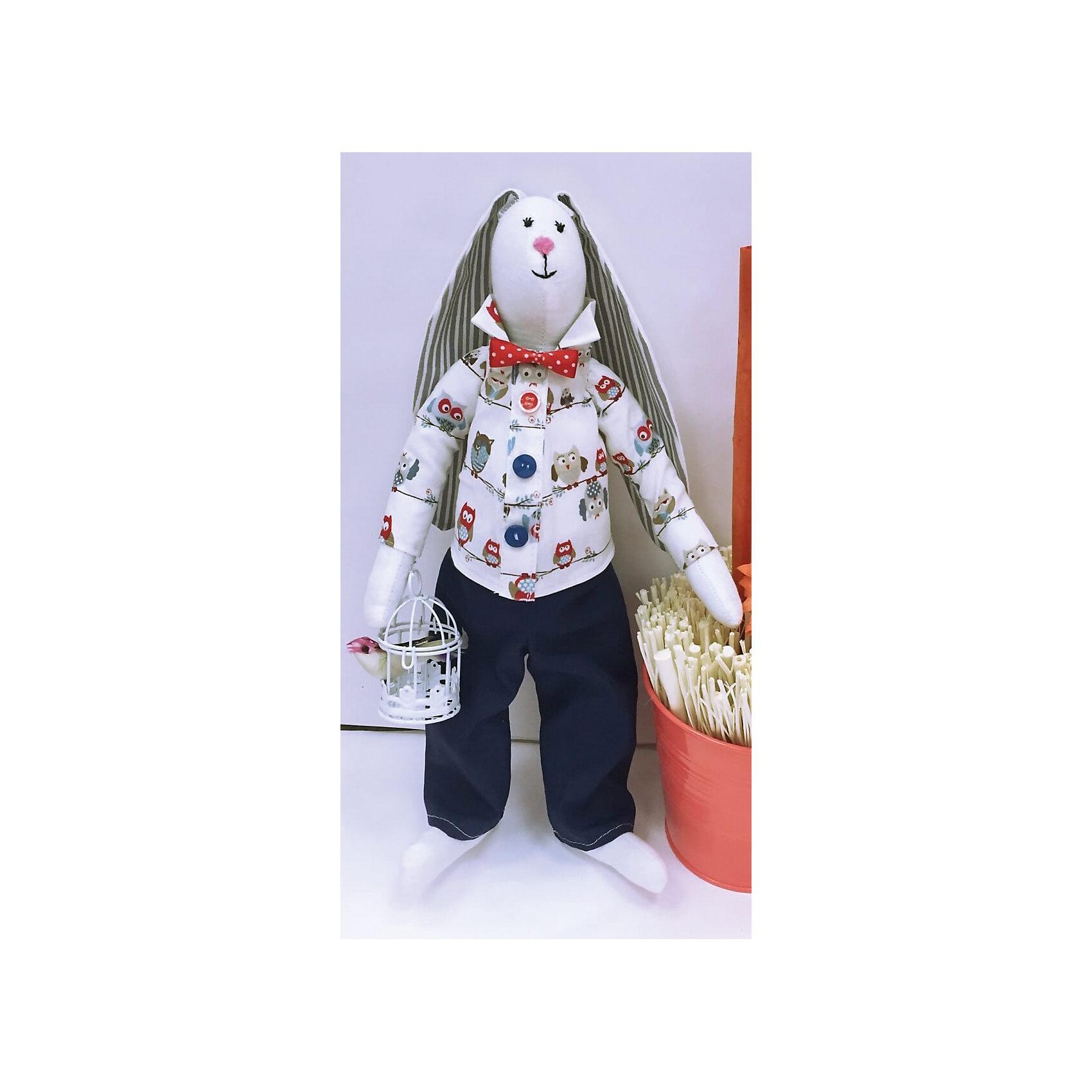 Набор для шитья Галантный заяцРукоделие<br>В набор входит выкройка, подробная инструкция, лекало, мел, булавки, нитки, наполнитель-холлафайбер, ленты и аксессуары для украшения. Игрушка выполняется из специальной несыпучей ткани для печворка. Своими руками Вы создаете дизайнерскую игрушку<br><br>Ширина мм: 250<br>Глубина мм: 20<br>Высота мм: 350<br>Вес г: 500<br>Возраст от месяцев: 120<br>Возраст до месяцев: 180<br>Пол: Унисекс<br>Возраст: Детский<br>SKU: 5350870