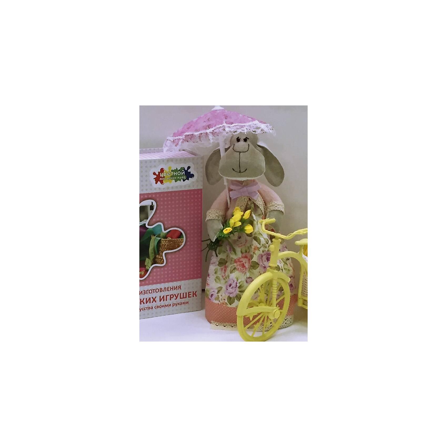 Набор для шитья Овечка неженкаРукоделие<br>В набор входит выкройка, подробная инструкция, лекало, мел, булавки, нитки, наполнитель-холлафайбер, ленты и аксессуары для украшения. Игрушка выполняется из специальной несыпучей ткани для печворка. Своими руками Вы создаете дизайнерскую игрушку<br><br>Ширина мм: 250<br>Глубина мм: 20<br>Высота мм: 350<br>Вес г: 500<br>Возраст от месяцев: 120<br>Возраст до месяцев: 180<br>Пол: Унисекс<br>Возраст: Детский<br>SKU: 5350872
