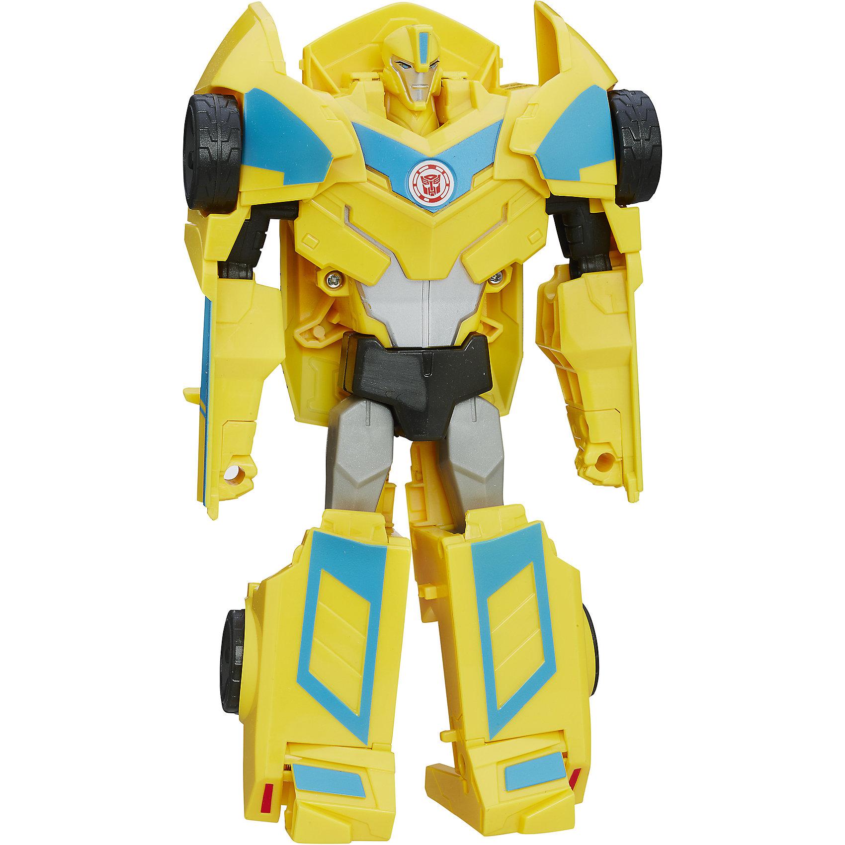 Роботс-ин-Дисгайс Гиперчэндж, Трансформеры, B0067/B6808Характеристики:<br><br>• Вид игр: сюжетно-ролевые, коллекционирование<br>• Пол: для мальчиков<br>• Коллекция: Трансформеры<br>• Материал: пластик<br>• Высота робота: от 12 см<br>• Трансформируется в машинку<br>• На фигурке имеется сканируемая наклейка, которая открывает доступ и дополнительные возможности в бесплатном мобильном приложении Hasbro Robots in Disguise<br>• Вес в упаковке: 300 г<br>• Размеры упаковки (Г*Ш*В): 15*6*17,5 см<br>• Упаковка: блистер на картонной подложке<br><br>Роботс-ин-Дисгайс Гиперчэндж, Бамблби, Трансформеры, B0067/B6808, B0067/B6808 от Хасбро – это коллекция трансформеров-роботов, созданных по мотивам популярного мультсериала Трансформеры: Роботы под прикрытием. Коллекция включает в себя роботов двух враждующих кланов. Каждая фигурка трансформируется либо в машину, либо в монстра или динозавра. Фигурки героев данной серии выполнены из безопасного и устойчивого к ударам пластика, окрашены нетоксичной краской. На груди робота имеется сканируемая наклейка, которая открывает доступ и дополнительные возможности в бесплатном мобильном приложении Hasbro Robots in Disguise. Фигурка выполнена с высокой степенью детализации. Сюжетно-ролевые игры с Роботс-ин-Дисгайс Гиперчэндж, Бамблби, Трансформеры, B0067/B6808, B0067/B6808 будут способствовать эмоциональному развитию ребенка, а разыгрываемые сюжеты с любимыми героями позволят развивать память и воображение. <br><br>Роботс-ин-Дисгайс Гиперчэндж, Бамблби, Трансформеры, B0067/B6808, B0067/B6808 можно купить в нашем интернет-магазине.<br><br>Ширина мм: 79<br>Глубина мм: 203<br>Высота мм: 229<br>Вес г: 300<br>Возраст от месяцев: 60<br>Возраст до месяцев: 120<br>Пол: Мужской<br>Возраст: Детский<br>SKU: 5352846