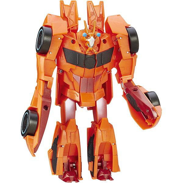 Роботс-ин-Дисгайс Гиперчэндж - Биск, ТрансформерыТрансформеры-игрушки<br>Характеристики:<br><br>• Вид игр: сюжетно-ролевые, коллекционирование<br>• Пол: для мальчиков<br>• Коллекция: Трансформеры<br>• Материал: пластик<br>• Высота робота: от 12 см<br>• Трансформируется в машинку<br>• На фигурке имеется сканируемая наклейка, которая открывает доступ и дополнительные возможности в бесплатном мобильном приложении Hasbro Robots in Disguise<br>• Вес в упаковке: 300 г<br>• Размеры упаковки (Г*Ш*В): 15*6*17,5 см<br>• Упаковка: блистер на картонной подложке<br><br>Роботс-ин-Дисгайс Гиперчэндж, Биск, Трансформеры, B0067/B7045, B0067/B7045 от Хасбро – это коллекция трансформеров-роботов, созданных по мотивам популярного мультсериала Трансформеры: Роботы под прикрытием. Коллекция включает в себя роботов двух враждующих кланов. Каждая фигурка трансформируется либо в машину, либо в монстра или динозавра. Фигурки героев данной серии выполнены из безопасного и устойчивого к ударам пластика, окрашены нетоксичной краской. На груди робота имеется сканируемая наклейка, которая открывает доступ и дополнительные возможности в бесплатном мобильном приложении Hasbro Robots in Disguise. Фигурка выполнена с высокой степенью детализации. Сюжетно-ролевые игры с Роботс-ин-Дисгайс Гиперчэндж, Биск, Трансформеры, B0067/B7045, B0067/B7045 будут способствовать эмоциональному развитию ребенка, а разыгрываемые сюжеты с любимыми героями позволят развивать память и воображение. <br><br>Роботс-ин-Дисгайс Гиперчэндж, Биск, Трансформеры, B0067/B7045, B0067/B7045 можно купить в нашем интернет-магазине.<br>Ширина мм: 79; Глубина мм: 203; Высота мм: 229; Вес г: 300; Возраст от месяцев: 60; Возраст до месяцев: 120; Пол: Мужской; Возраст: Детский; SKU: 5352847;
