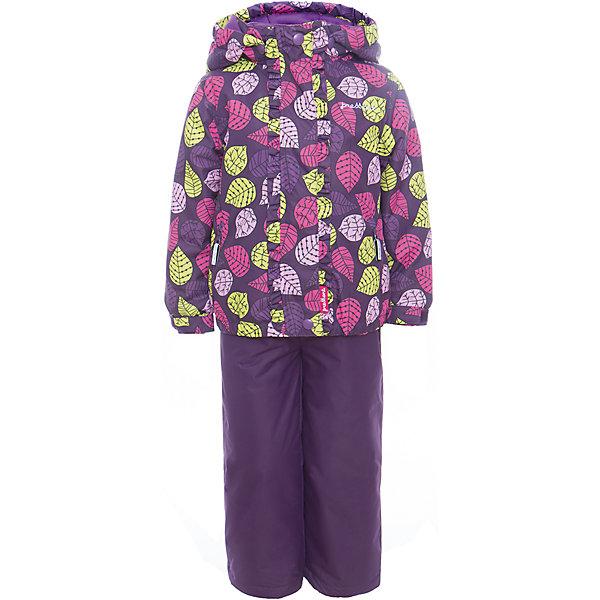 Комплект: куртка и полукомбинезон для девочки PremontВерхняя одежда<br>Характеристики товара:<br><br>• цвет: фиолетовый<br>• состав: 100% полиэстер, мембрана<br>• подкладка: тафетта, трикотаж с ворсом на воротнике и в капюшоне<br>• утеплитель: Tech-Polyfill, в куртке 120 г/м2,  в брюках 80 г/м2<br>• комплектация: куртка и полукомбинезон<br>• температурный режим: от -5° С до +10° С<br>• водонепроницаемый материал<br>• съемный капюшон<br>• силиконовые съемные штрипки<br>• брюки с утяжкой на талии<br>• светоотражающие элементы<br>• молния<br>• страна бренда: Канада<br><br>Этот демисезонный комплект из куртки и полукомбинезона поможет обеспечить ребенку комфорт и тепло. Материал отлично подходит для дождливой погоды. Для производства продукции используются только безопасные, проверенные материалы и качественная фурнитура. Порадуйте ребенка модными и красивыми вещами от Premont! <br><br>Комплект: куртка и полукомбинезон для девочки от известного бренда Premont можно купить в нашем интернет-магазине.<br>Ширина мм: 356; Глубина мм: 10; Высота мм: 245; Вес г: 519; Цвет: лиловый; Возраст от месяцев: 60; Возраст до месяцев: 72; Пол: Женский; Возраст: Детский; Размер: 128,122,116,110,104,98,92,152,146,140,134; SKU: 5352955;
