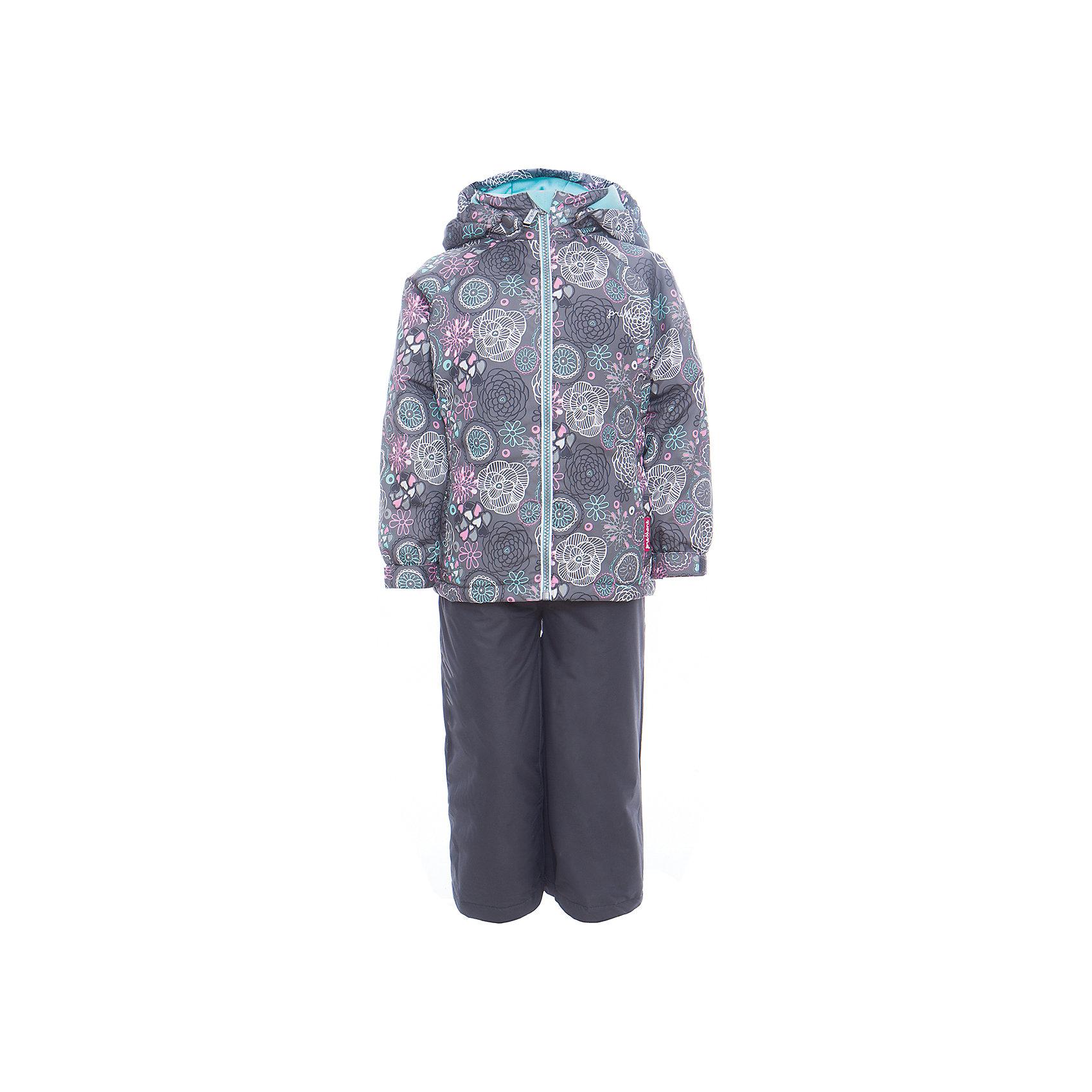 Комплект: куртка и полукомбинезон для девочки PremontВерхняя одежда<br>Характеристики товара:<br><br>• цвет: серый<br>• состав: 100% полиэстер, мембрана 3000 мм/ 3000 г/м ?/24h<br>• подкладка: тафетта, трикотаж с ворсом на воротнике и в капюшоне<br>• утеплитель: Tech-Polyfill, в куртке 120 г/м2,  в брюках 80 г/м2<br>• комплектация: куртка и полукомбинезон<br>• температурный режим: от -5° С до +10° С<br>• водонепроницаемый материал<br>• съемный капюшон<br>• силиконовые съемные штрипки<br>• брюки с утяжкой на талии<br>• светоотражающие элементы<br>• молния<br>• страна бренда: Канада<br><br>Этот демисезонный комплект из куртки и полукомбинезона поможет обеспечить ребенку комфорт и тепло. Материал отлично подходит для дождливой погоды. Для производства продукции используются только безопасные, проверенные материалы и качественная фурнитура. Порадуйте ребенка модными и красивыми вещами от Premont! <br><br>Комплект: куртка и полукомбинезон для девочки от известного бренда Premont можно купить в нашем интернет-магазине.<br><br>Ширина мм: 356<br>Глубина мм: 10<br>Высота мм: 245<br>Вес г: 519<br>Цвет: серый<br>Возраст от месяцев: 18<br>Возраст до месяцев: 24<br>Пол: Женский<br>Возраст: Детский<br>Размер: 92,128,134,140,146,110,98,116,122,104,152<br>SKU: 5352967