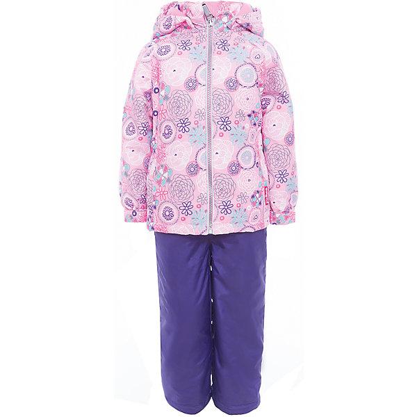Комплект: куртка и полукомбинезон для девочки PremontВерхняя одежда<br>Характеристики товара:<br><br>• цвет: розовый, фиолетовый<br>• состав: 100% полиэстер, мембрана 3000 мм/ 3000 г/м ?/24h<br>• подкладка: тафетта, трикотаж с ворсом на воротнике и в капюшоне<br>• утеплитель: Tech-Polyfill, в куртке 120 г/м2,  в брюках 80 г/м2<br>• комплектация: куртка и полукомбинезон<br>• температурный режим: от -5° С до +10° С<br>• водонепроницаемый материал<br>• съемный капюшон<br>• силиконовые съемные штрипки<br>• брюки с утяжкой на талии<br>• светоотражающие элементы<br>• молния<br>• страна бренда: Канада<br><br>Этот демисезонный комплект из куртки и полукомбинезона поможет обеспечить ребенку комфорт и тепло. Материал отлично подходит для дождливой погоды. Для производства продукции используются только безопасные, проверенные материалы и качественная фурнитура. Порадуйте ребенка модными и красивыми вещами от Premont! <br><br>Комплект: куртка и полукомбинезон для девочки от известного бренда Premont можно купить в нашем интернет-магазине.<br>Ширина мм: 356; Глубина мм: 10; Высота мм: 245; Вес г: 519; Цвет: розовый; Возраст от месяцев: 18; Возраст до месяцев: 24; Пол: Женский; Возраст: Детский; Размер: 116,128,122,110,104,98,92,152,146,140,134; SKU: 5352979;