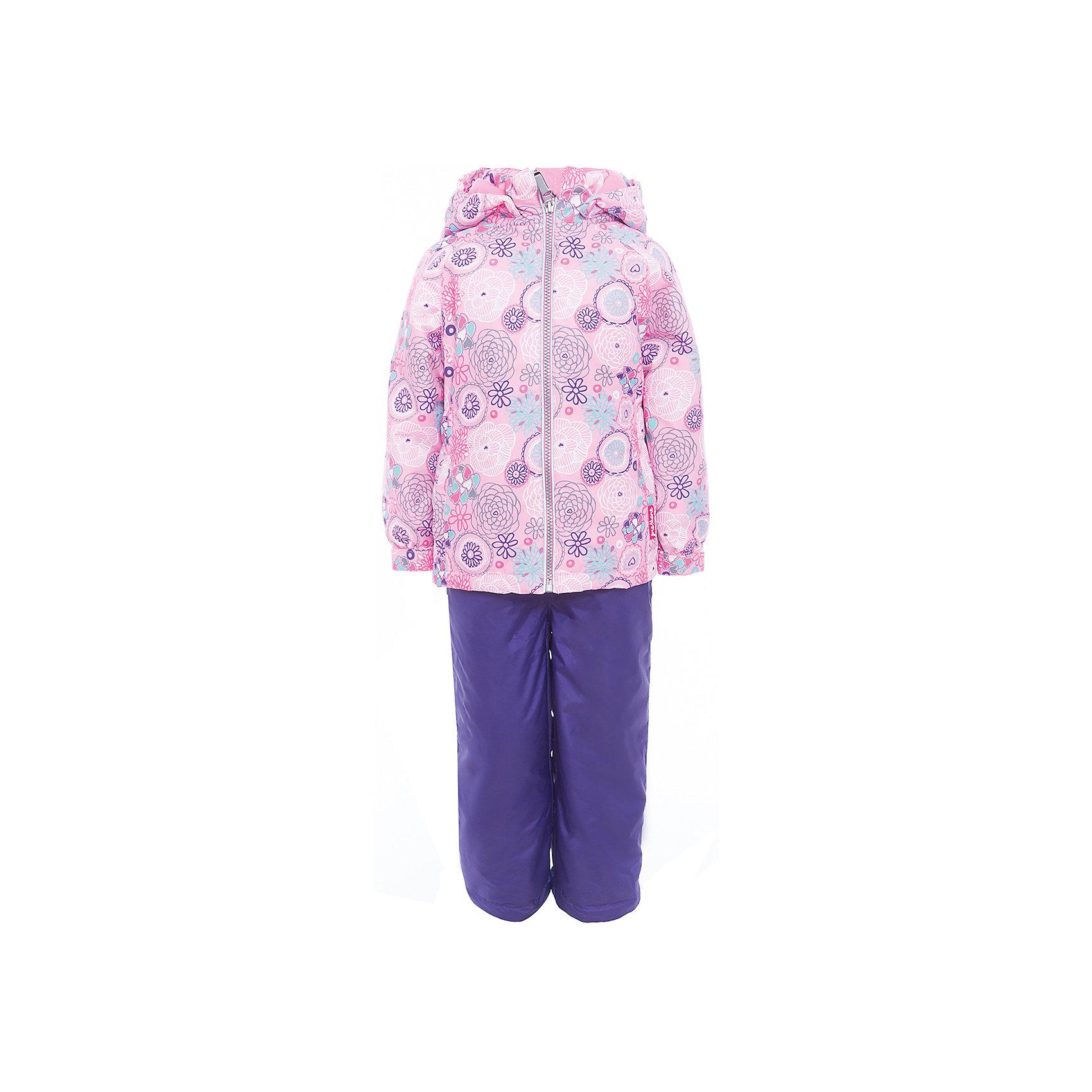Комплект: куртка и полукомбинезон для девочки PremontВерхняя одежда<br>Характеристики товара:<br><br>• цвет: розовый, фиолетовый<br>• состав: 100% полиэстер, мембрана 3000 мм/ 3000 г/м ?/24h<br>• подкладка: тафетта, трикотаж с ворсом на воротнике и в капюшоне<br>• утеплитель: Tech-Polyfill, в куртке 120 г/м2,  в брюках 80 г/м2<br>• комплектация: куртка и полукомбинезон<br>• температурный режим: от -5° С до +10° С<br>• водонепроницаемый материал<br>• съемный капюшон<br>• силиконовые съемные штрипки<br>• брюки с утяжкой на талии<br>• светоотражающие элементы<br>• молния<br>• страна бренда: Канада<br><br>Этот демисезонный комплект из куртки и полукомбинезона поможет обеспечить ребенку комфорт и тепло. Материал отлично подходит для дождливой погоды. Для производства продукции используются только безопасные, проверенные материалы и качественная фурнитура. Порадуйте ребенка модными и красивыми вещами от Premont! <br><br>Комплект: куртка и полукомбинезон для девочки от известного бренда Premont можно купить в нашем интернет-магазине.<br><br>Ширина мм: 356<br>Глубина мм: 10<br>Высота мм: 245<br>Вес г: 519<br>Цвет: розовый<br>Возраст от месяцев: 18<br>Возраст до месяцев: 24<br>Пол: Женский<br>Возраст: Детский<br>Размер: 92,152,98,104,110,116,122,128,134,140,146<br>SKU: 5352979