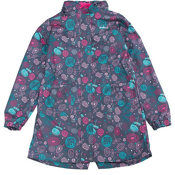 Плащ для девочки PremontВерхняя одежда<br>Характеристики товара:<br><br>• цвет: серый принт<br>• состав: верх - мембрана 5 000 mm, подкладка - полиэстер, флис, без утеплителя<br>• температурный режим: от +5 С° до +15 С<br>• демисезон<br>• капюшон<br>• застежка - молния<br>• декорирован принтом<br>• карманы<br>• ветронепроницаемый, водо- и грязеотталкивающий и дышащий материал<br>• эластичные манжеты<br>• фиксация талии с помощью внутренней резинки<br>• комфортная посадка<br>• страна бренда: Канада<br><br>Такой плащ - универсальный вариант для теплого межсезонья с постоянно меняющейся погодой. Эта модель - модная и удобная одновременно! Изделие отличается стильным ярким дизайном. Плащ хорошо сидит по фигуре, отлично сочетается с различным низом. Вещь была разработана специально для детей.<br><br>Одежда от канадского бренда Premont уже завоевала популярностью у многих детей и их родителей. Вещи, выпускаемые компанией, качественные, продуманные и очень удобные. Для производства коллекций используются только безопасные для детей материалы.<br><br>Плащ для девочки от бренда Premont можно купить в нашем интернет-магазине.<br>Ширина мм: 356; Глубина мм: 10; Высота мм: 245; Вес г: 519; Цвет: серый; Возраст от месяцев: 48; Возраст до месяцев: 60; Пол: Женский; Возраст: Детский; Размер: 110,164/170,152/158,140/146,134,122; SKU: 5352991;