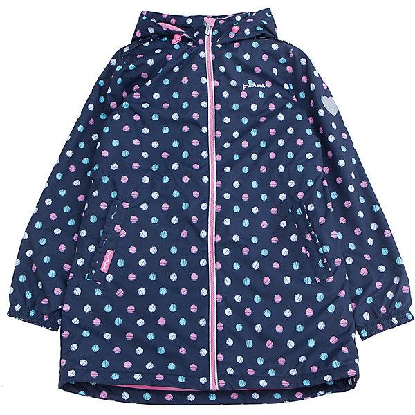Плащ для девочки PremontВерхняя одежда<br>Характеристики товара:<br><br>• цвет: синий<br>• состав: верх - мембрана 3000 mm, подкладка - полиэстер, флис, без утеплителя<br>• температурный режим: от +5 С° до +15 С<br>• демисезон<br>• капюшон<br>• застежка - молния<br>• декорирован принтом<br>• карманы<br>• ветронепроницаемый, водо- и грязеотталкивающий и дышащий материал<br>• эластичные манжеты<br>• дополнительная регулировка капюшона<br>• комфортная посадка<br>• страна бренда: Канада<br><br>Такой плащ - универсальный вариант для теплого межсезонья с постоянно меняющейся погодой. Эта модель - модная и удобная одновременно! Изделие отличается стильным ярким дизайном. Плащ хорошо сидит по фигуре, отлично сочетается с различным низом. Вещь была разработана специально для детей.<br><br>Одежда от канадского бренда Premont уже завоевала популярностью у многих детей и их родителей. Вещи, выпускаемые компанией, качественные, продуманные и очень удобные. Для производства коллекций используются только безопасные для детей материалы.<br><br>Плащ для девочки от бренда Premont можно купить в нашем интернет-магазине.<br><br>Ширина мм: 356<br>Глубина мм: 10<br>Высота мм: 245<br>Вес г: 519<br>Цвет: синий<br>Возраст от месяцев: 96<br>Возраст до месяцев: 108<br>Пол: Женский<br>Возраст: Детский<br>Размер: 134,122,110,164/170,152/158,140/146<br>SKU: 5352998
