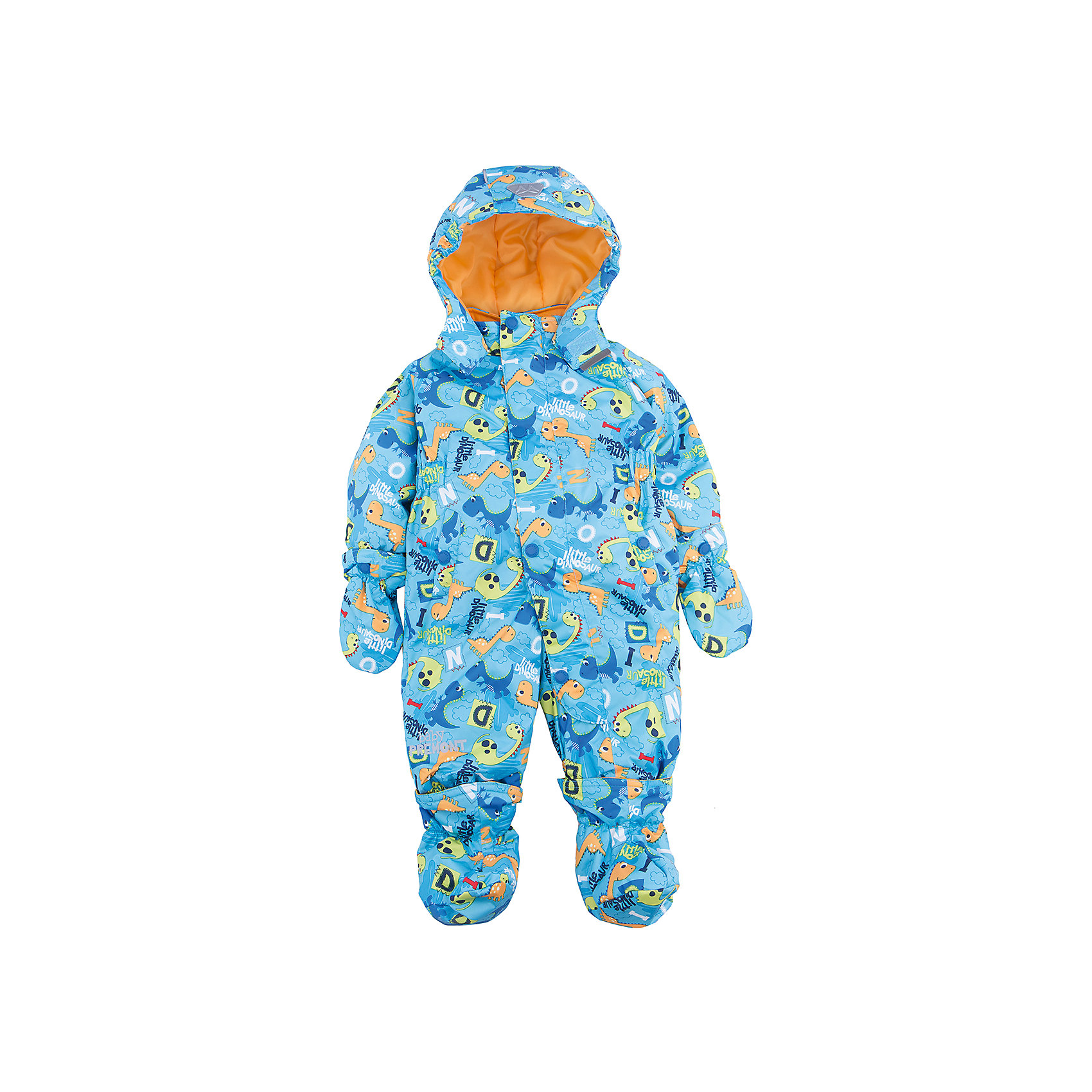 Комбинезон для мальчика PremontВерхняя одежда<br>Характеристики товара:<br><br>• цвет: голубой<br>• состав: мембрана 3000мм/3000г/м2/24h<br>• подкладка: хлопок, Taffeta <br>• утеплитель 120г/м2<br>• светоотражающие элементы<br>• температурный режим: от -5°С до +10°С<br>• застежка - молния<br>• капюшон съемный<br>• принт<br>• ветронепроницаемый, водо- и грязеотталкивающий и дышащий материал<br>• эластичные манжеты<br>• комфортная посадка<br>• страна бренда: Канада<br><br>Демисезонный комбинезон - универсальный вариант и для прохладной осени, и для первых заморозков. Эта модель - модная и удобная одновременно! Комбинезон отличается стильным ярким дизайном. Комплект хорошо сидит по фигуре, отлично сочетается с различной обувью. Вещь была разработана специально для детей.<br><br>До 12 месяцев идет в комплекте с варежками и пинетками.<br><br>Одежда от канадского бренда Premont уже завоевала популярностью у многих детей и их родителей. Вещи, выпускаемые компанией, качественные, продуманные и очень удобные. Для производства коллекций используются только безопасные для детей материалы.<br><br>Комбинезон для мальчика  от бренда Premont можно купить в нашем интернет-магазине.<br><br>Ширина мм: 356<br>Глубина мм: 10<br>Высота мм: 245<br>Вес г: 519<br>Цвет: синий<br>Возраст от месяцев: 18<br>Возраст до месяцев: 24<br>Пол: Мужской<br>Возраст: Детский<br>Размер: 92,68,74,80,86<br>SKU: 5353029