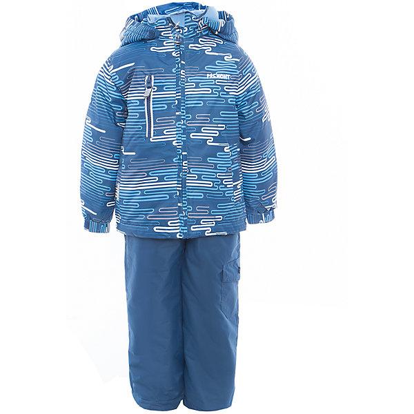 Комплект: куртка и полукомбинезон для мальчика PremontВерхняя одежда<br>Характеристики товара:<br><br>• цвет: синий<br>• составткани: 100% полиэстер, мембрана 3000 мм/ 3000 г/м ?/24h<br>• подкладка: тафетта, трикотаж с ворсом на воротнике и в капюшоне<br>• утеплитель - Tech-Polyfill, в куртке 120 г/м2,  в брюках 80 г/м2<br>• комплектация: куртка и полукомбинезон<br>• температурный режим: от -5° С до +10° С<br>• водонепроницаемый материал<br>• съемный капюшон<br>• силиконовые съемные штрипки<br>• брюки с утяжкой на талии<br>• светоотражающие элементы<br>• страна бренда: Канада<br><br>Демисезонный комплект Premont обеспечит ребенку комфорт и тепло во время прогулок. Комплект хорошо защищает от ветра и влаги. Материал отлично подходит для дождливой погоды. <br>Одежда от канадского бренда Premont стильная, качественные и удобная. Для производства продукции используются только безопасные, проверенные материалы и фурнитура. Порадуйте ребенка модными и красивыми вещами от Premont! <br><br>Комплект: куртка и полукомбинезон для мальчика от известного бренда Premont можно купить в нашем интернет-магазине.<br>Ширина мм: 356; Глубина мм: 10; Высота мм: 245; Вес г: 519; Цвет: синий; Возраст от месяцев: 60; Возраст до месяцев: 72; Пол: Мужской; Возраст: Детский; Размер: 116,134,140,146,92,98,104,152,110,122,128; SKU: 5353049;