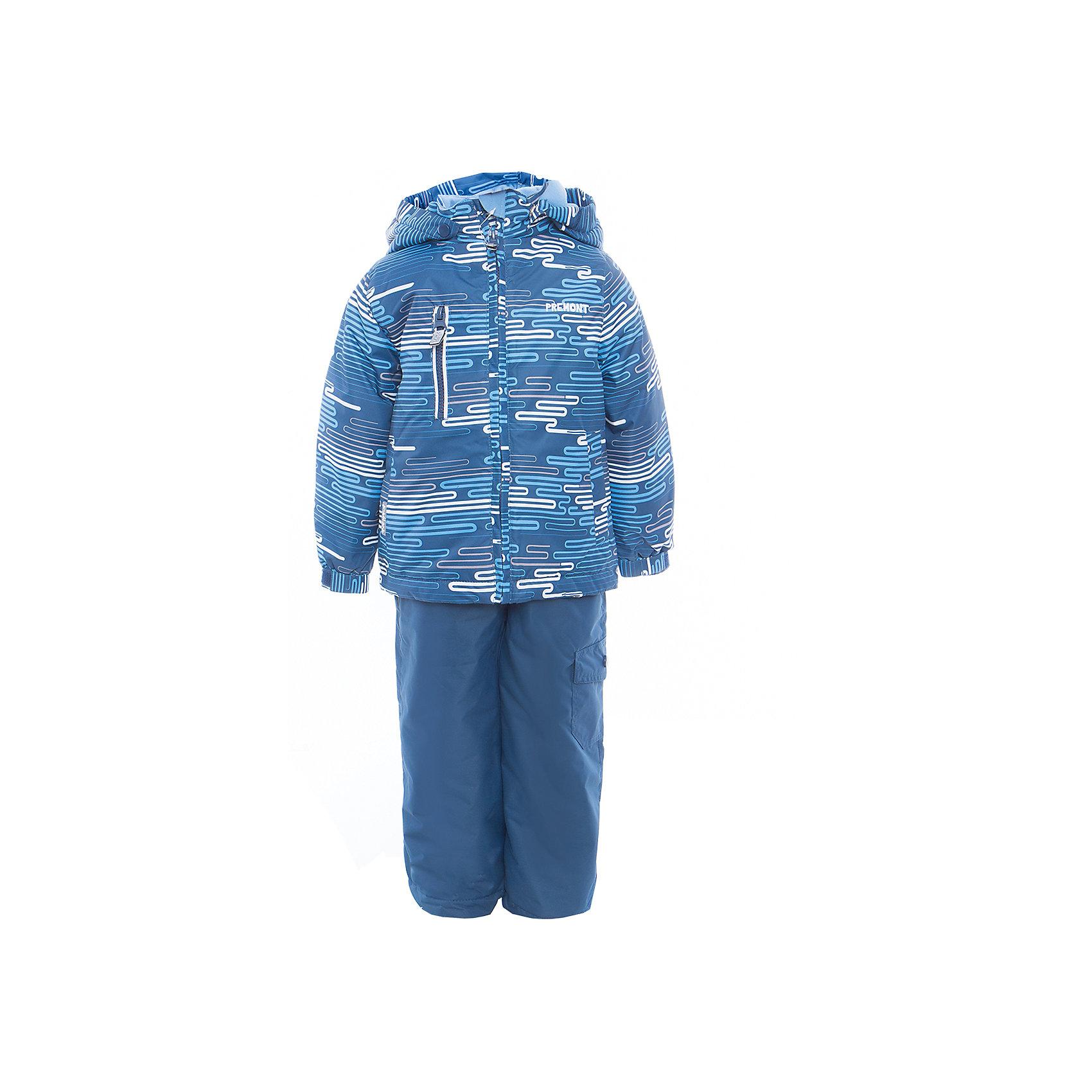 Комплект: куртка и полукомбинезон для мальчика PremontВерхняя одежда<br>Характеристики товара:<br><br>• цвет: синий<br>• составткани: 100% полиэстер, мембрана 3000 мм/ 3000 г/м ?/24h<br>• подкладка: тафетта, трикотаж с ворсом на воротнике и в капюшоне<br>• утеплитель - Tech-Polyfill, в куртке 120 г/м2,  в брюках 80 г/м2<br>• комплектация: куртка и полукомбинезон<br>• температурный режим: от -5° С до +10° С<br>• водонепроницаемый материал<br>• съемный капюшон<br>• силиконовые съемные штрипки<br>• брюки с утяжкой на талии<br>• светоотражающие элементы<br>• страна бренда: Канада<br><br>Демисезонный комплект Premont обеспечит ребенку комфорт и тепло во время прогулок. Комплект хорошо защищает от ветра и влаги. Материал отлично подходит для дождливой погоды. <br>Одежда от канадского бренда Premont стильная, качественные и удобная. Для производства продукции используются только безопасные, проверенные материалы и фурнитура. Порадуйте ребенка модными и красивыми вещами от Premont! <br><br>Комплект: куртка и полукомбинезон для мальчика от известного бренда Premont можно купить в нашем интернет-магазине.<br><br>Ширина мм: 356<br>Глубина мм: 10<br>Высота мм: 245<br>Вес г: 519<br>Цвет: синий<br>Возраст от месяцев: 18<br>Возраст до месяцев: 24<br>Пол: Мужской<br>Возраст: Детский<br>Размер: 92,152,98,104,110,116,122,128,134,140,146<br>SKU: 5353049