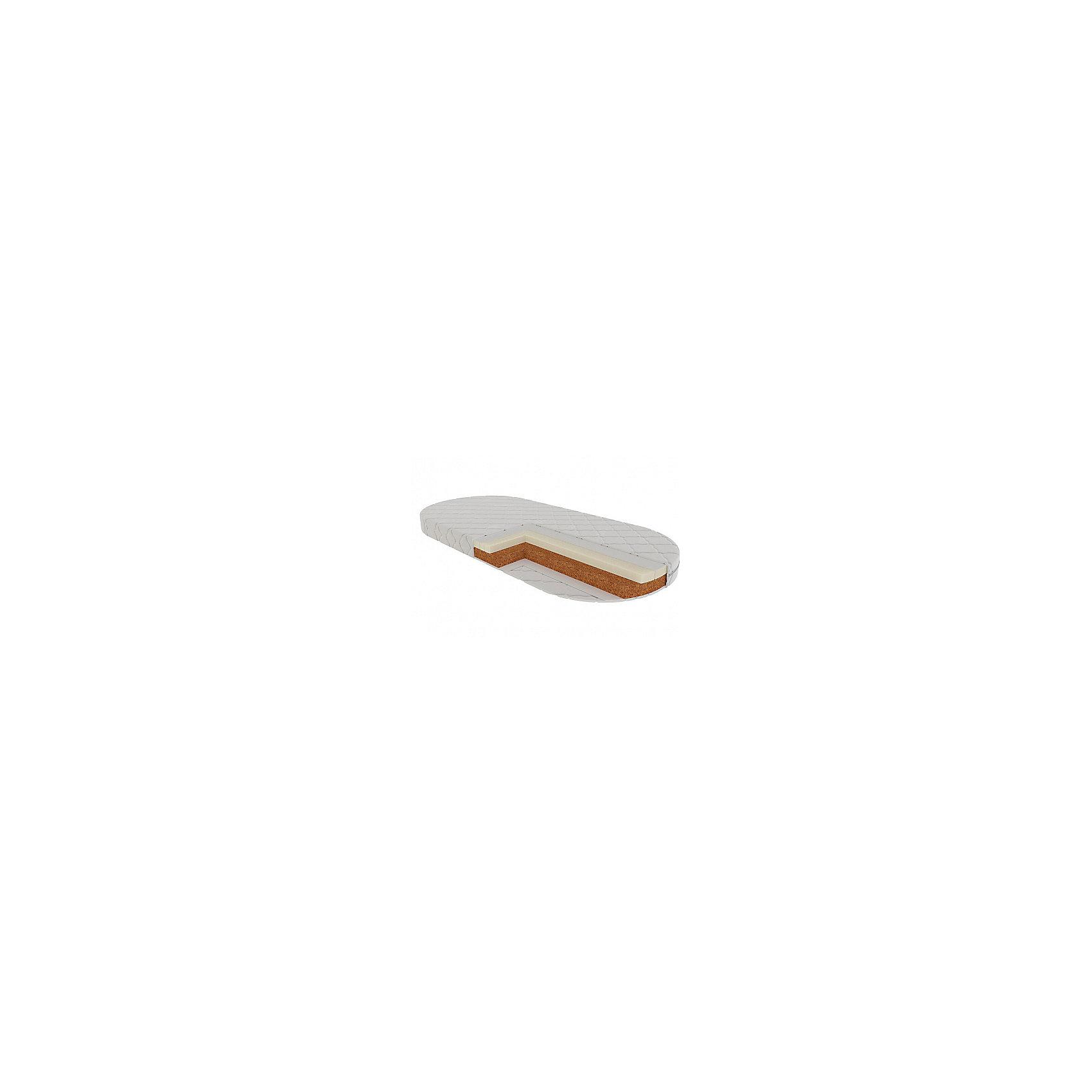 Матрас Венеция овальный 125х65, VikalexХарактеристики:<br><br>• двусторонний матрас в детскую кроватку;<br>• размер матраса: 125х65х12 см;<br>• материал: кокосовое волокно 60 мм, латекс 35 мм, нетканый материал Airotek;<br>• чехол с пропиткой алоэ-вера с защитой от клещей;<br>• стеганый чехол Stress Free на молнии;<br>• чехол можно снять и постирать при температуре 30 градусов;<br>• вес матраса: 6,3 кг.<br><br>Матрас разной степени жесткости дает возможность укладывать ребенка на ровное жесткое основание, для формирования правильной осанки. Матрас гарантирует комфорт и при этом анатомически правильную поддержку позвоночника ребенка - это крайне важно, ведь в первые месяцы жизни малыша закладывается динамика развития систем органов. Эластичность и прочность матраса наряду с гипоаллергенностью и воздухопроницаемостью отвечает самым высоким европейским стандартам.  <br><br>Матрас Венеция овальный 125х65, Vikalex можно купить в нашем магазине.<br><br>Ширина мм: 570<br>Глубина мм: 130<br>Высота мм: 590<br>Вес г: 3400<br>Возраст от месяцев: 0<br>Возраст до месяцев: 36<br>Пол: Унисекс<br>Возраст: Детский<br>SKU: 5353866