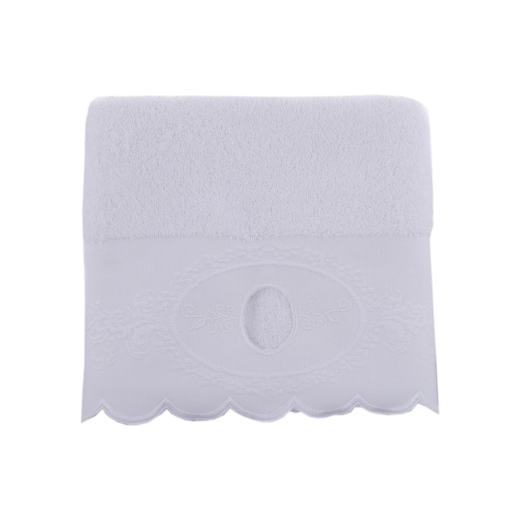 Полотенце махровое 50*90 Жаклин, Cozy Home, белыйПолотенце махровое 50*90 Жаклин, Cozy Home (Кози Хоум), белый<br><br>Характеристики:<br><br>• хорошо впитывает влагу<br>• изысканный дизайн<br>• материал: хлопок<br>• размер: 50х90 см<br>• цвет: белый<br><br>Махровое полотенце от Cozy Home порадует вас своей мягкостью и прочностью. Оно изготовлено из качественного хлопка. Как известно, хлопок - гипоаллергенный материал, приятный телу. Он не теряет свою форму, практически не мнется и даже обладает антибактериальными свойствами. Полотенца из хлопка хорошо впитывают влагу, обладая высокой гигроскопичностью. Полотенце дополнено волнистым узором, вышивкой по краю и отлично подойдет к любому интерьеру ванной комнаты.<br><br>Полотенце махровое 50*90 Жаклин, Cozy Home (Кози Хоум), белый вы можете купить в нашем интернет-магазине.<br><br>Ширина мм: 150<br>Глубина мм: 250<br>Высота мм: 150<br>Вес г: 250<br>Возраст от месяцев: 0<br>Возраст до месяцев: 216<br>Пол: Унисекс<br>Возраст: Детский<br>SKU: 5355282