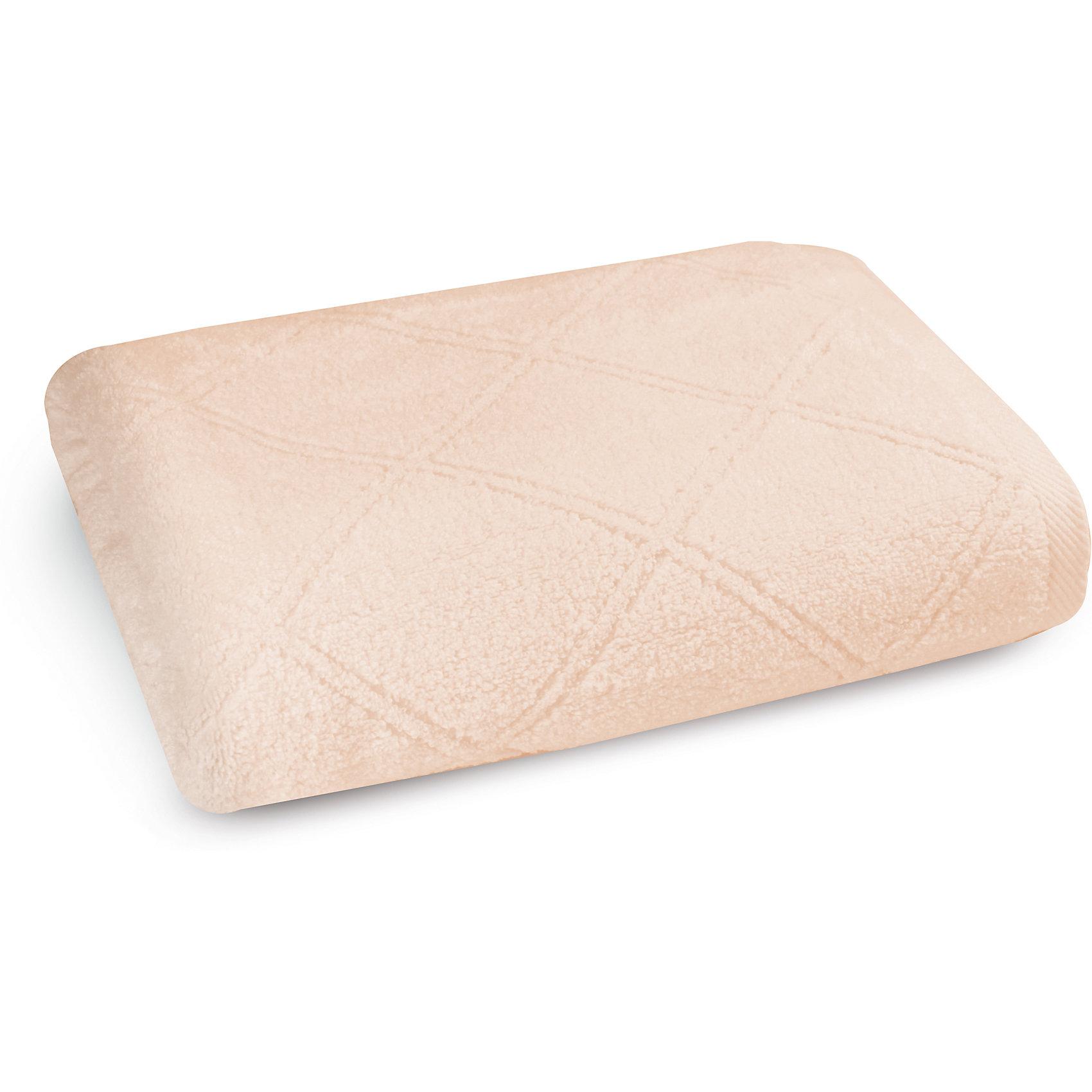 Полотенце махровое 50х90, Cozy Home, персикВанная комната<br>Полотенце махровое 50х90, Cozy Home (Кози Хоум), персик<br><br>Характеристики:<br><br>• мягкое полотенце, приятное на ощупь<br>• хорошо впитывает влагу<br>• легко стирать<br>• материал: хлопок<br>• размер: 50х90 см<br>• цвет: персиковый<br><br>Выбирая полотенце, важно обратить внимание на материал. Полотенце от Cozy Home изготовлено из качественного хлопка, поэтому оно очень приятно телу и не вызывает раздражения и аллергии. Полотенце хорошо впитывает влагу, а также быстро высыхает. Любые загрязнения вы с легкостью сможете отстирать при температуре 40?. Также полотенце порадует вас своей долговечностью. Даже после многочисленных стирок оно не изменит свой цвет и размер. Изделие имеет однотонную расцветку, дополненную узором из ромбов. Отличный выбор для ценителей качественного текстиля!<br><br>Полотенце махровое 50х90, Cozy Home (Кози Хоум), персик можно купить в нашем интернет-магазине.<br><br>Ширина мм: 150<br>Глубина мм: 250<br>Высота мм: 150<br>Вес г: 250<br>Возраст от месяцев: 0<br>Возраст до месяцев: 216<br>Пол: Унисекс<br>Возраст: Детский<br>SKU: 5355308
