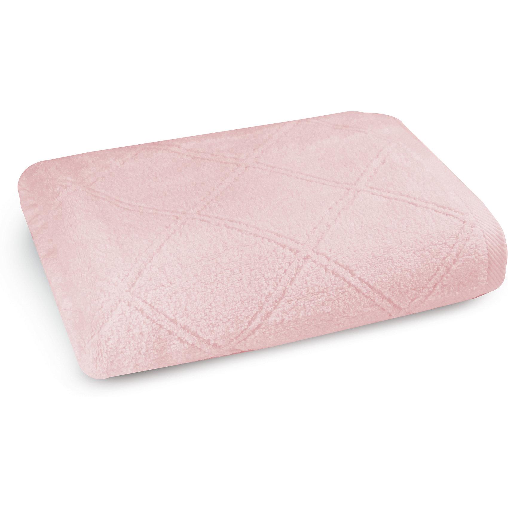 Полотенце махровое 50х90, Cozy Home, розовыйПолотенце махровое 50х90, Cozy Home (Кози Хоум), розовый<br><br>Характеристики:<br><br>• мягкое полотенце, приятное на ощупь<br>• хорошо впитывает влагу<br>• легко стирать<br>• материал: хлопок<br>• размер: 50х90 см<br>• цвет: розовый<br><br>Выбирая полотенце, важно обратить внимание на материал. Полотенце от Cozy Home изготовлено из качественного хлопка, поэтому оно очень приятно телу и не вызывает раздражения и аллергии. Полотенце хорошо впитывает влагу, а также быстро высыхает. Любые загрязнения вы с легкостью сможете отстирать при температуре 40?. Также полотенце порадует вас своей долговечностью. Даже после многочисленных стирок оно не изменит свой цвет и размер. Изделие имеет однотонную расцветку, дополненную узором из ромбов. Отличный выбор для ценителей качественного текстиля!<br><br>Полотенце махровое 50х90, Cozy Home (Кози Хоум), розовый можно купить в нашем интернет-магазине.<br><br>Ширина мм: 150<br>Глубина мм: 250<br>Высота мм: 150<br>Вес г: 250<br>Возраст от месяцев: 0<br>Возраст до месяцев: 216<br>Пол: Женский<br>Возраст: Детский<br>SKU: 5355309